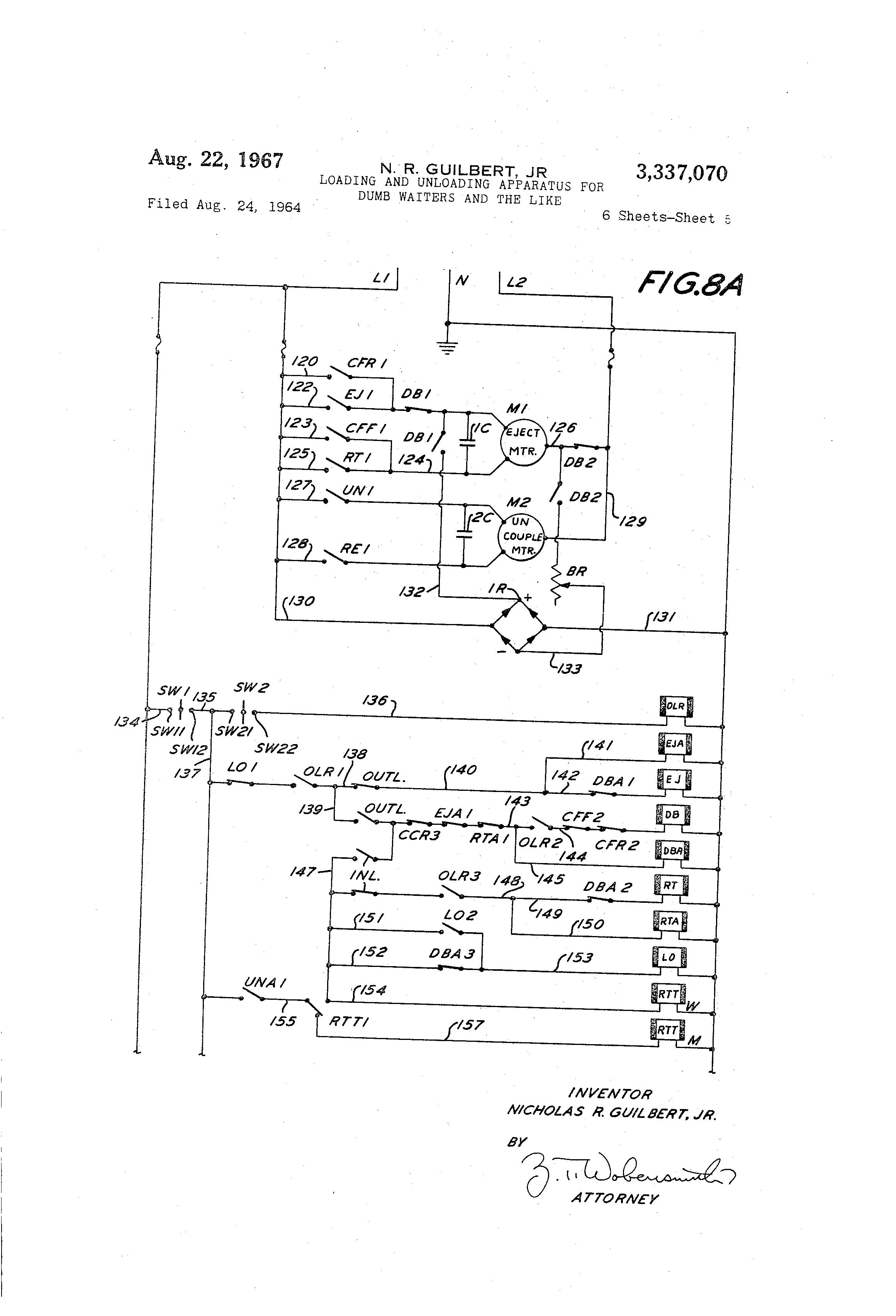 dumb waiter wiring info wiring u2022 rh zerega co the wiring diagram of dumbwaiter the wiring diagram of dumbwaiter