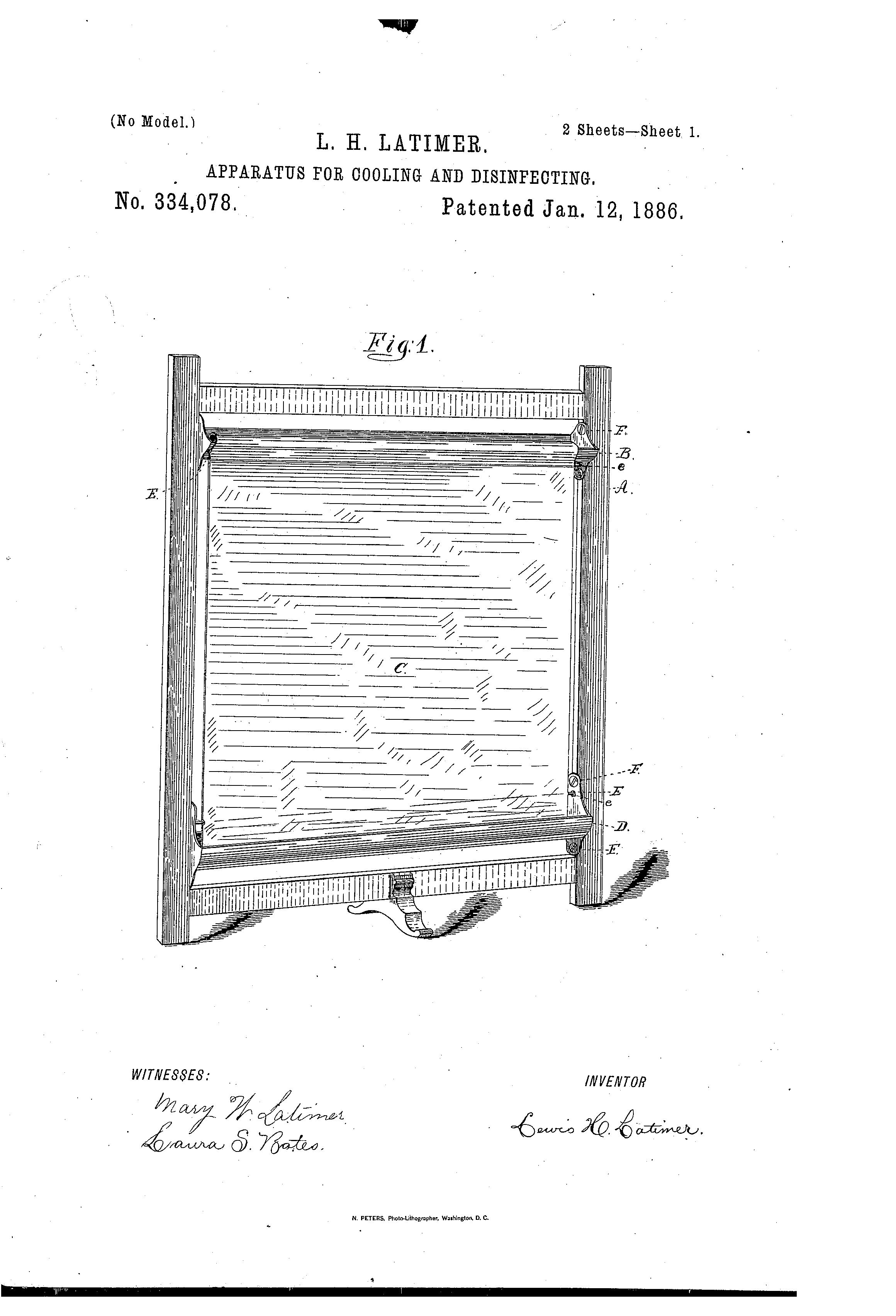 Patent US334078 - latimee - Google Patents