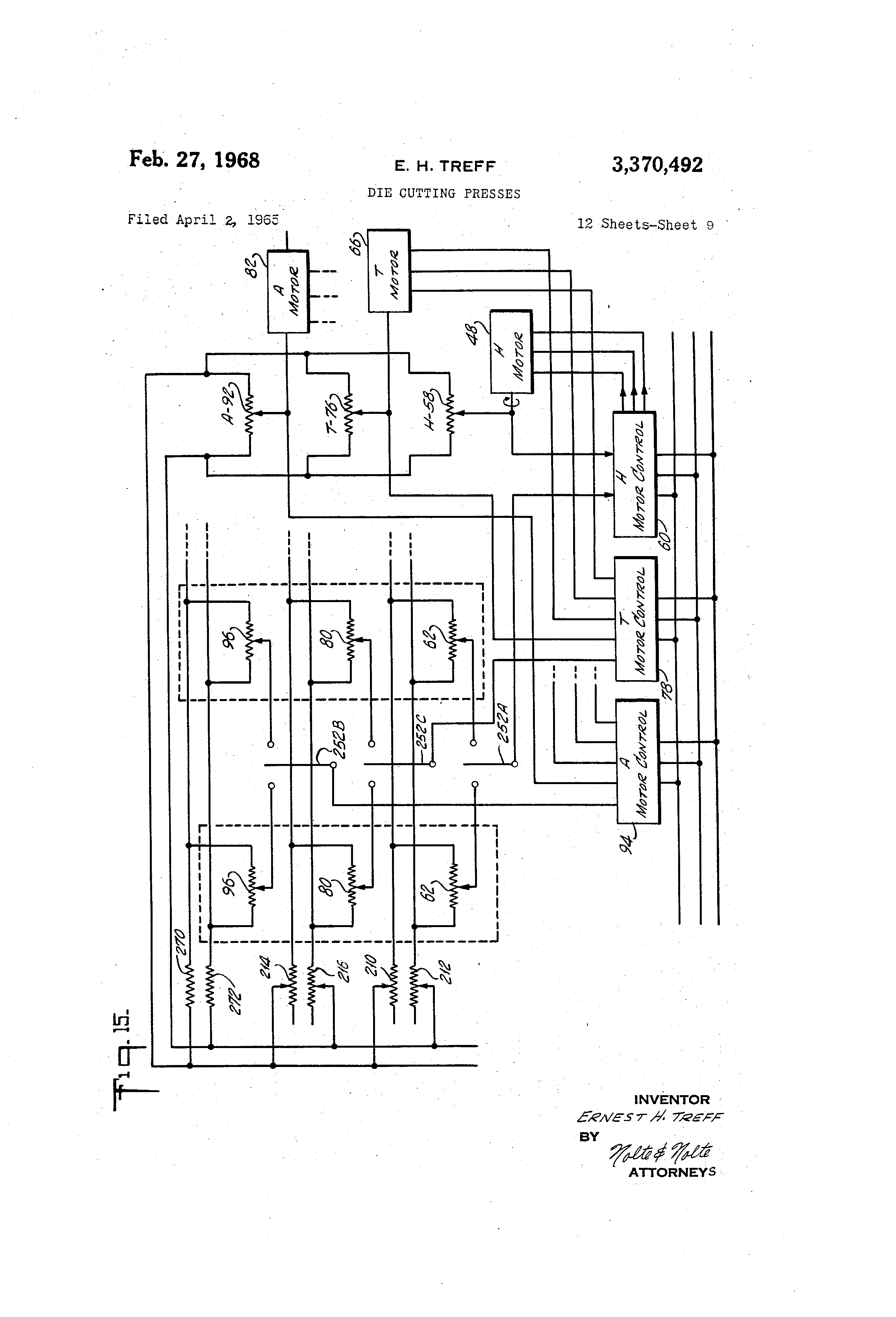 US3370492 8 patent us3370492 die cutting presses google patents stamping press wiring diagrams at soozxer.org