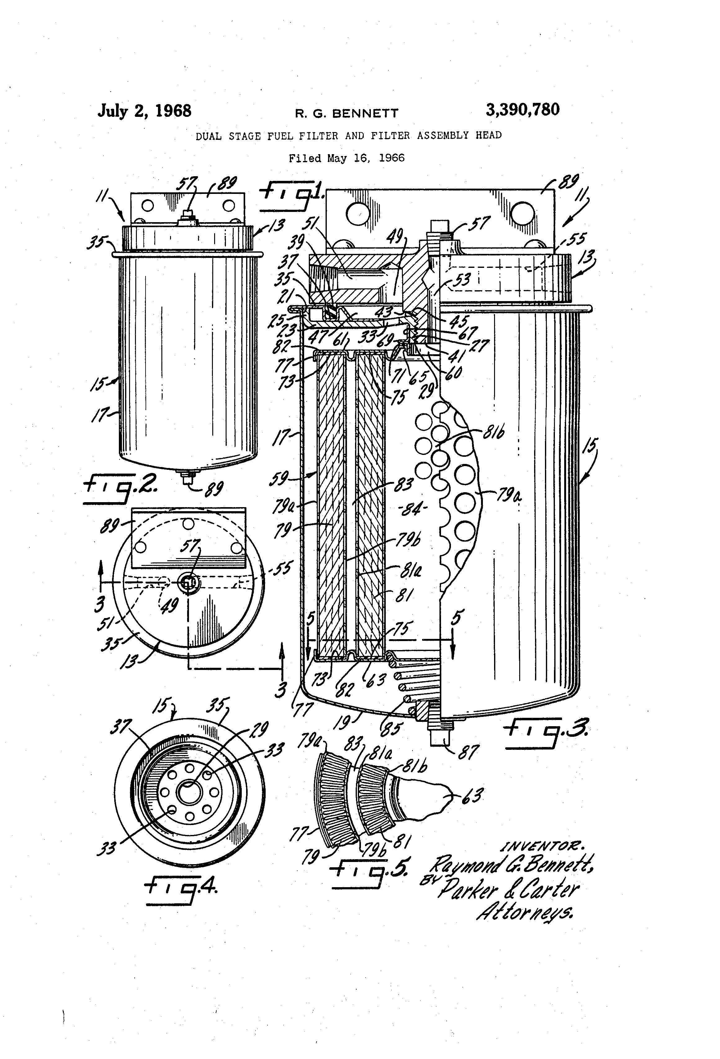 patent us3390780