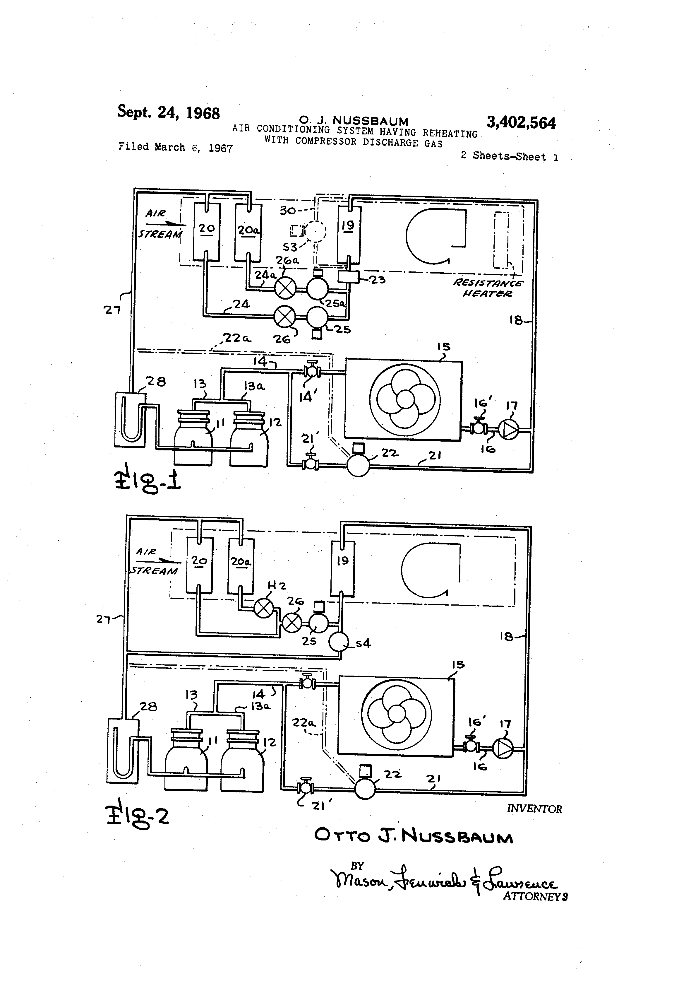 US3402564 0 patent us3402564 air conditioning system having reheating with larkin evaporator wiring diagram at n-0.co