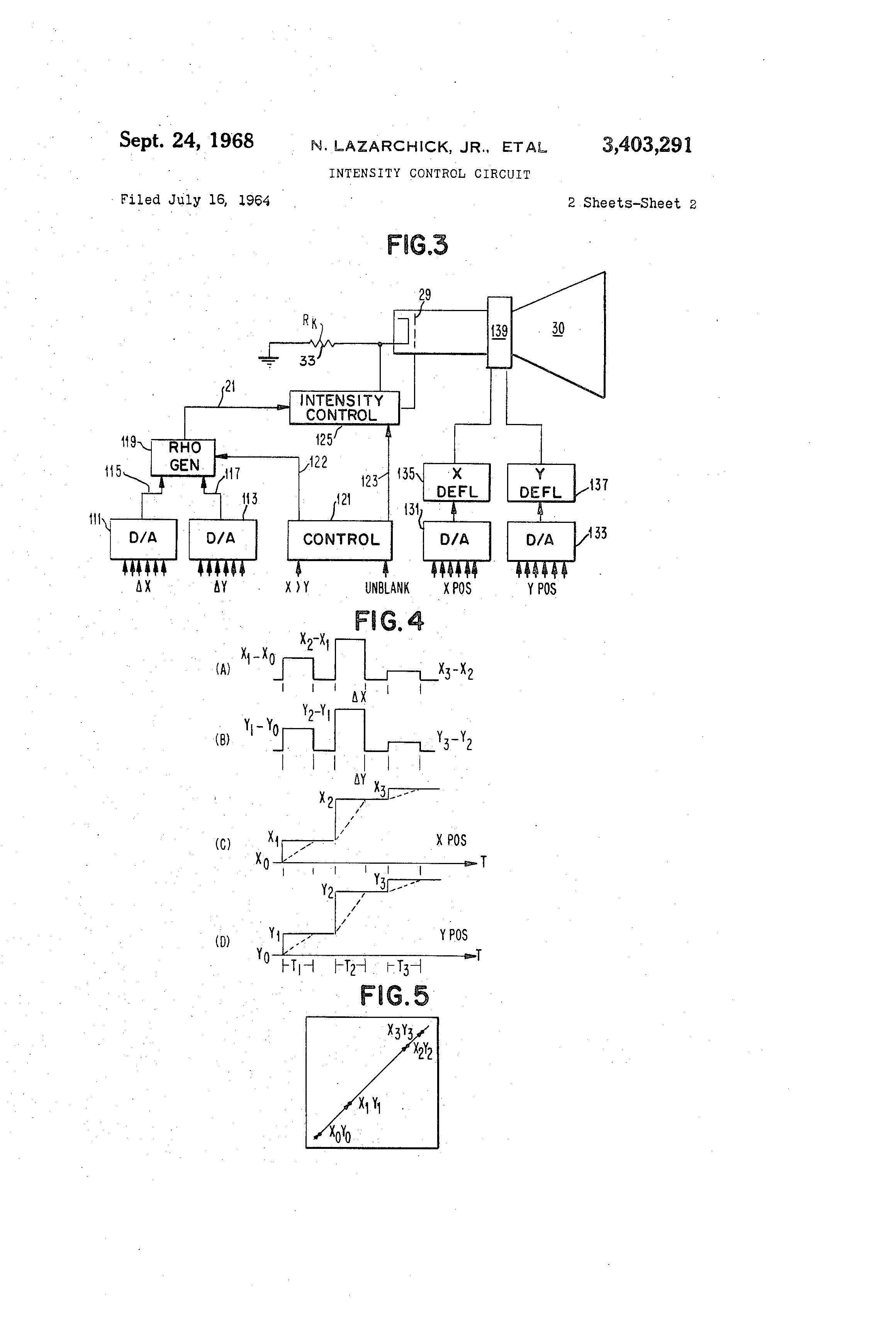 Patent US3403291 - Intensity control circuit - Google Patents
