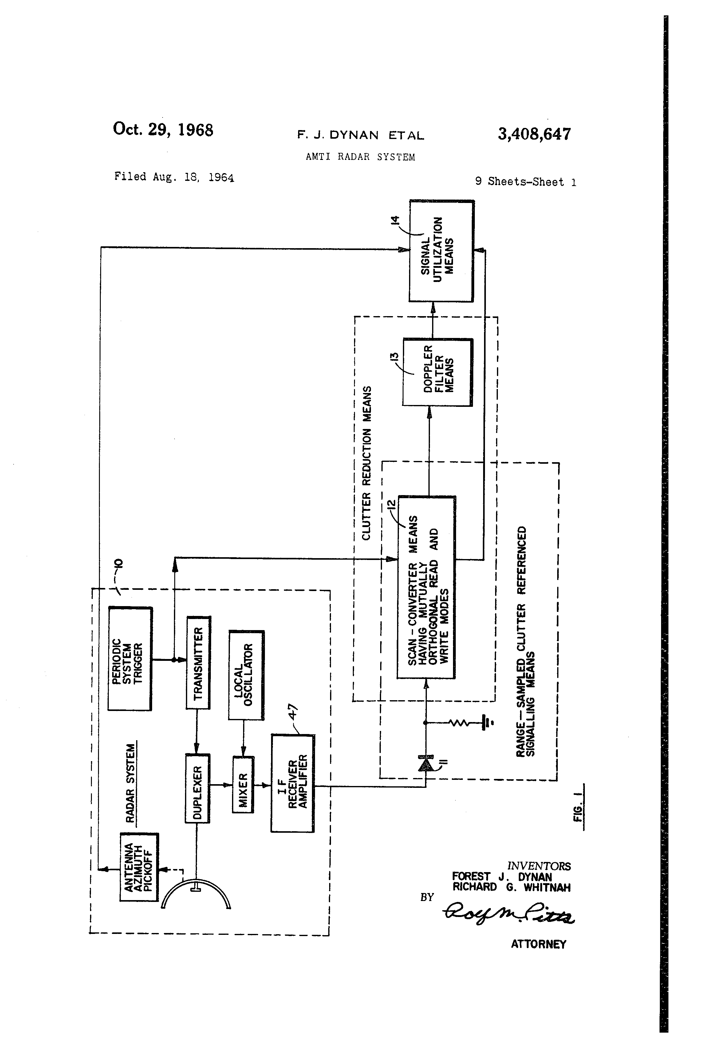 US3408647 0 ey john radar wiring diagram ey wiring diagrams collection  at n-0.co