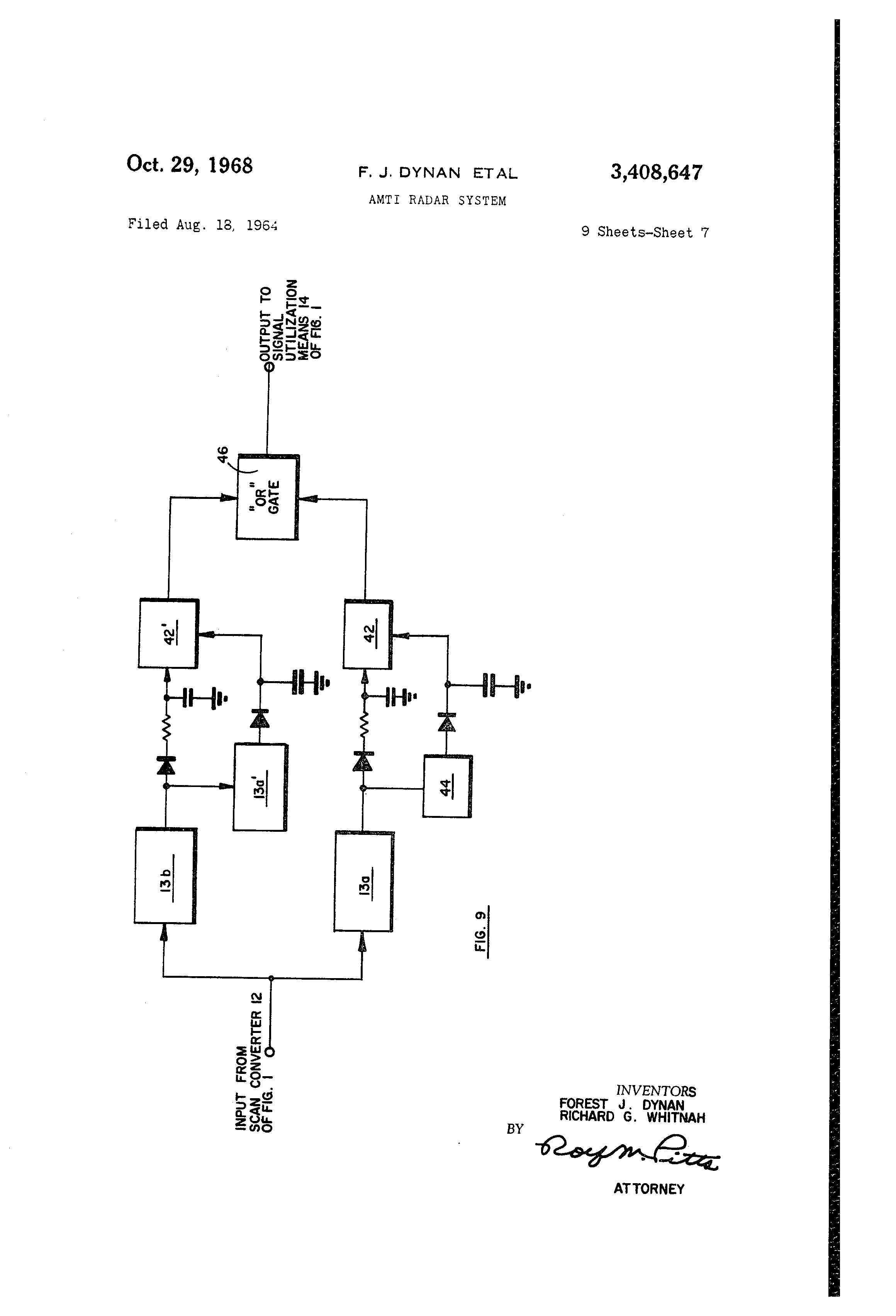 US3408647 6 ey john radar wiring diagram ey wiring diagrams collection  at gsmportal.co