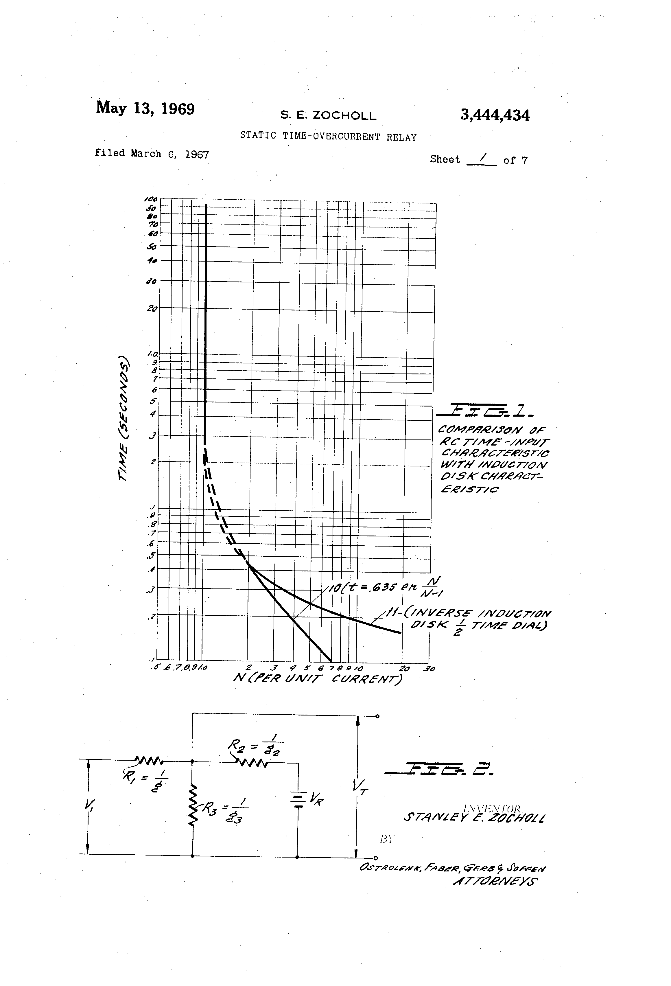 Patent US Static Timeovercurrent Relay Google Patents - Static relay working principle