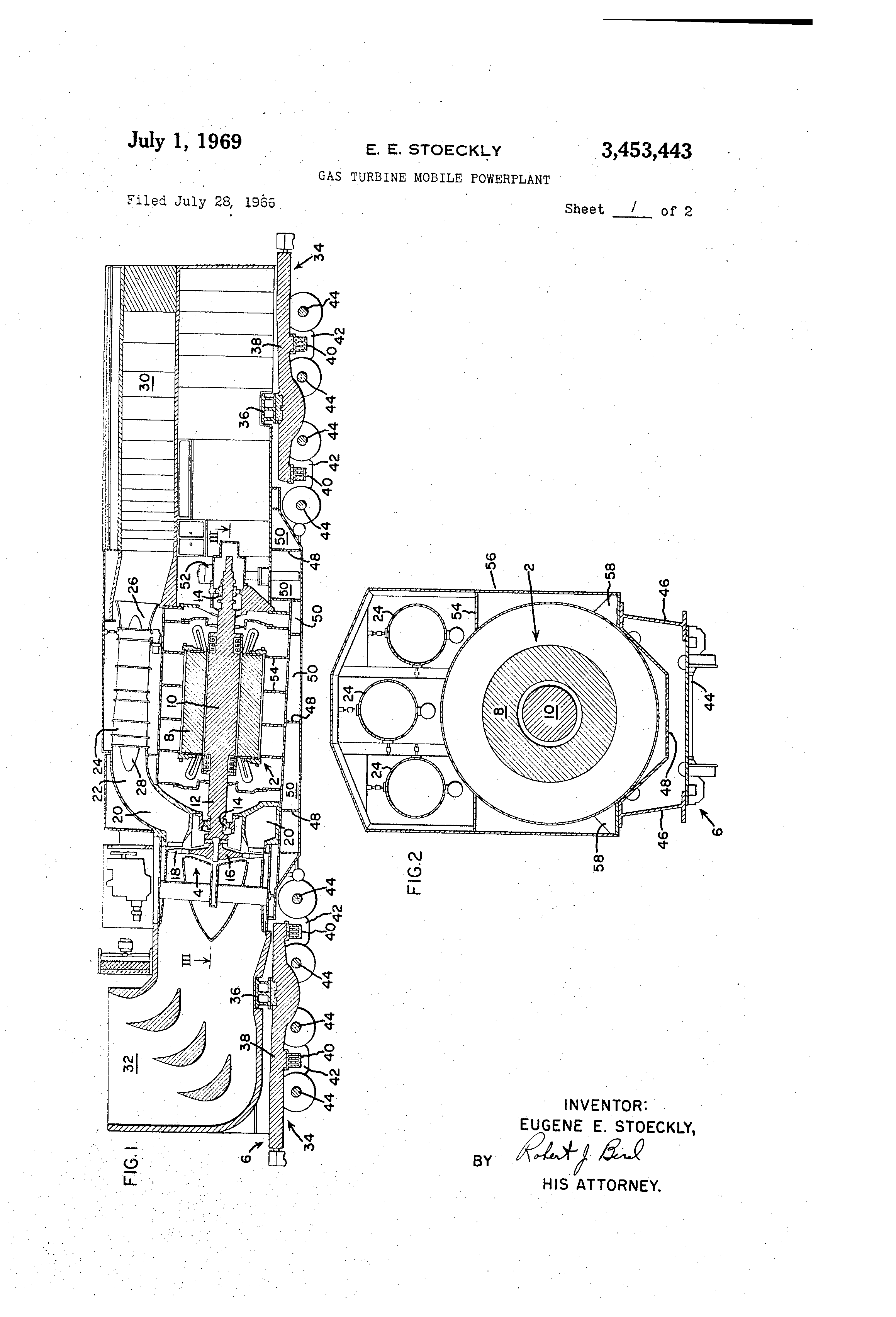 Patent US Gas turbine mobile powerplant Google Patents