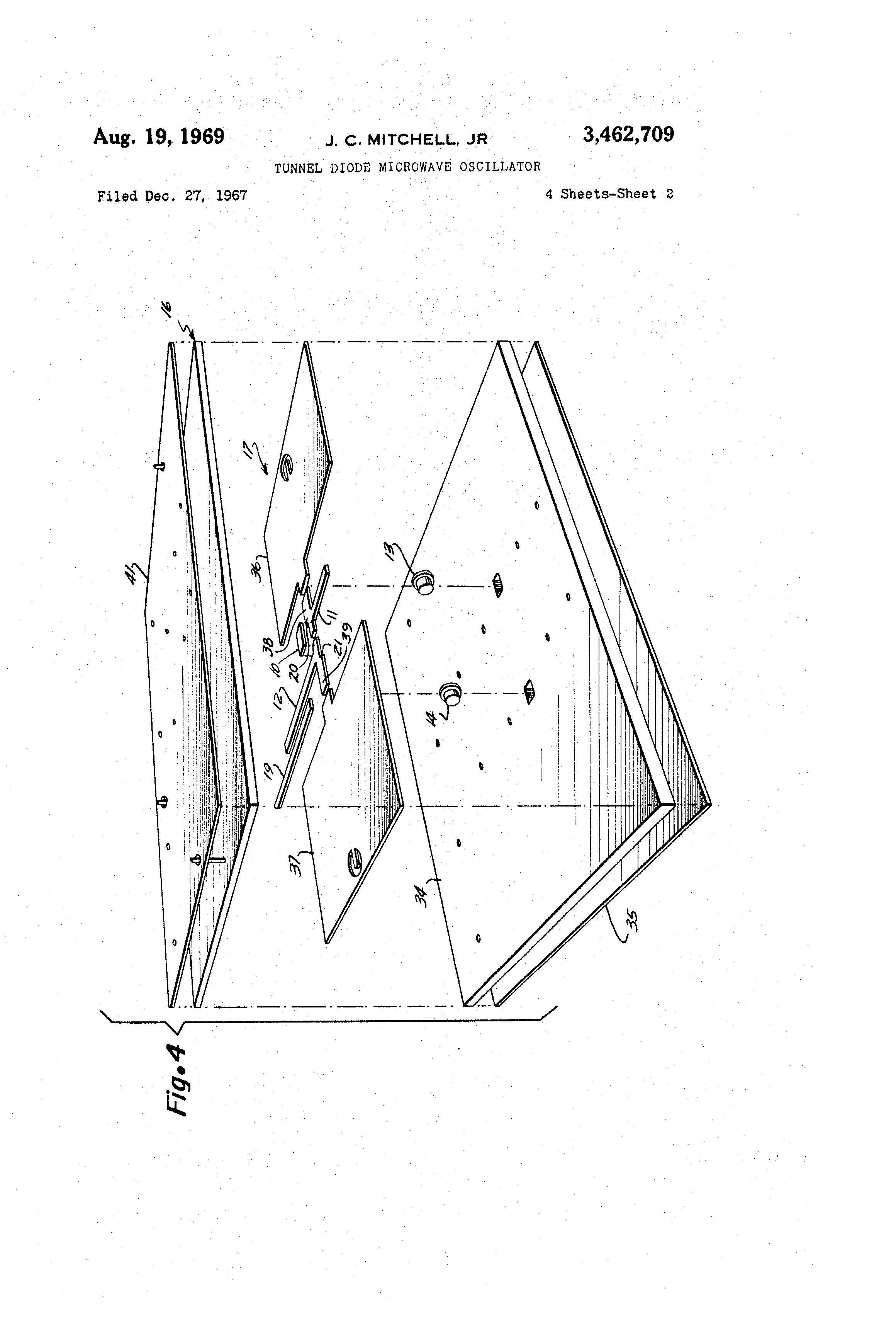 patent us3462709