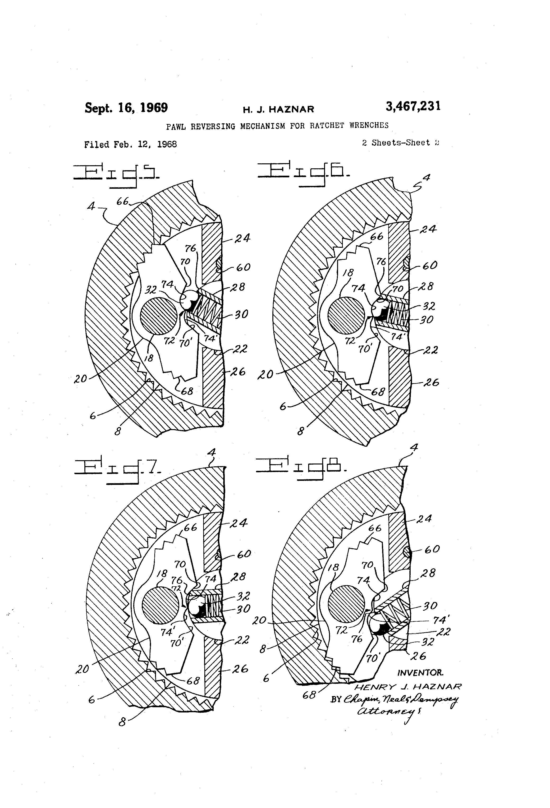 ratchet and pawl mechanism pdf