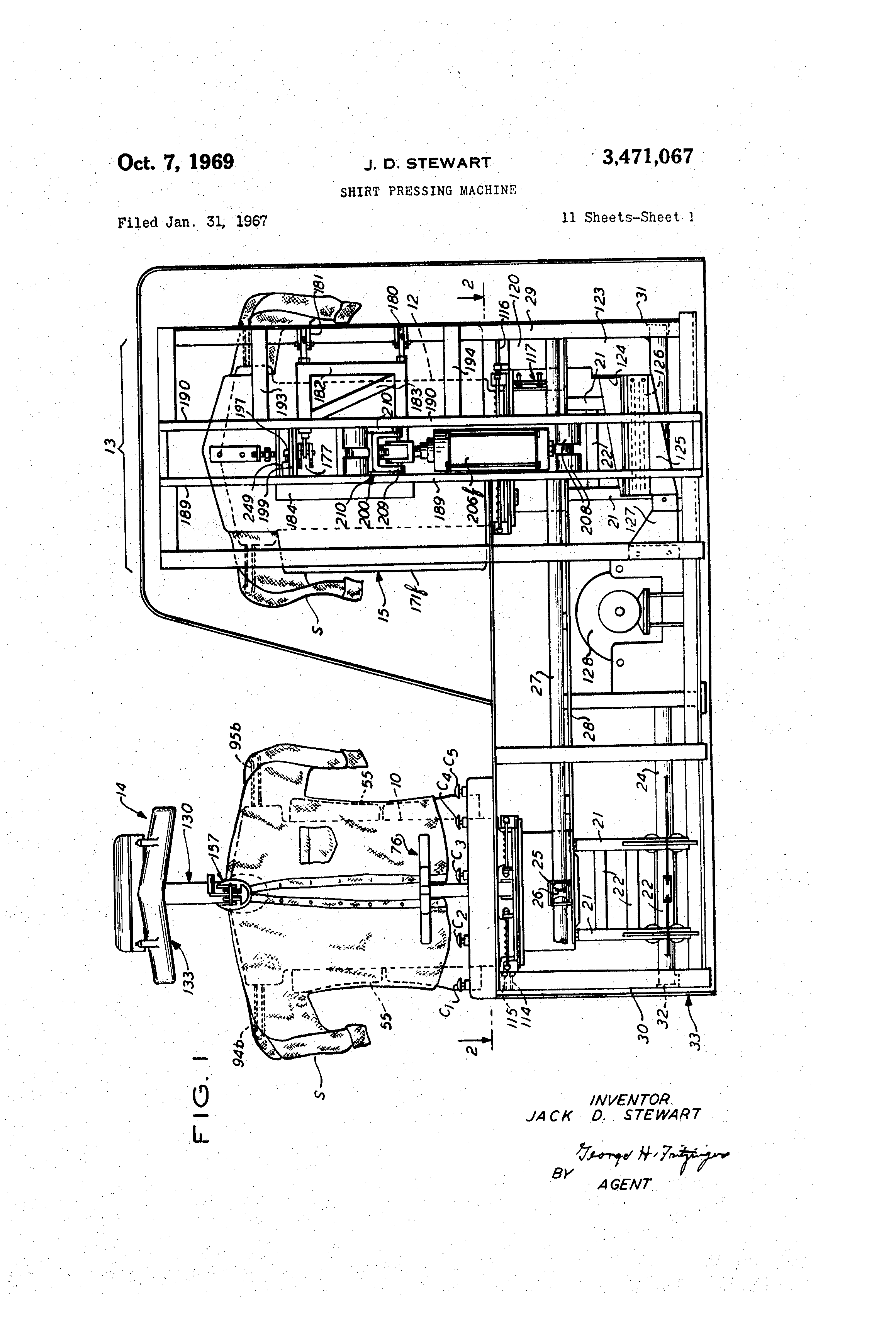 US3471067 0 patent us3471067 shirt pressing machine google patents  at nearapp.co
