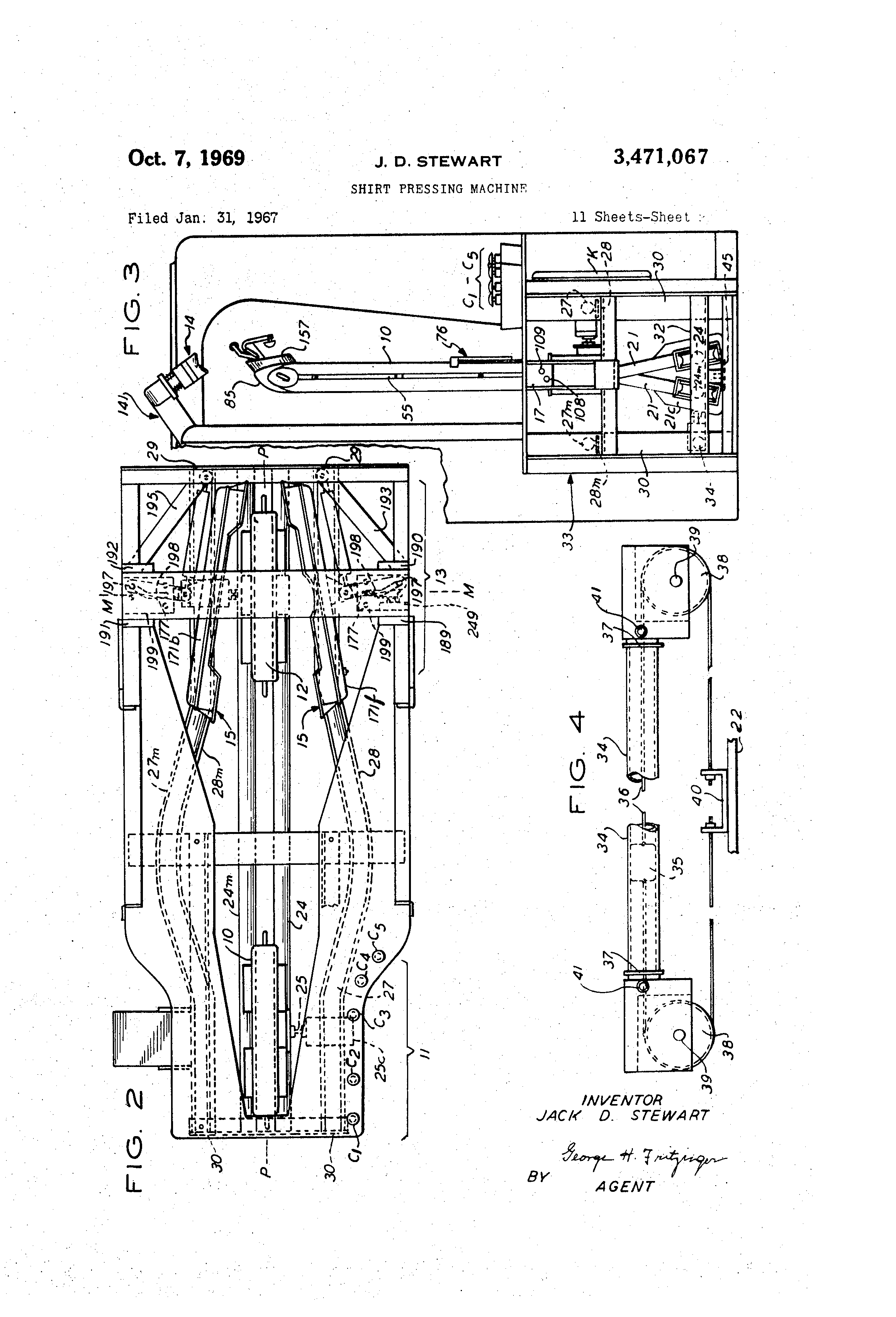 US3471067 1 patent us3471067 shirt pressing machine google patents  at nearapp.co