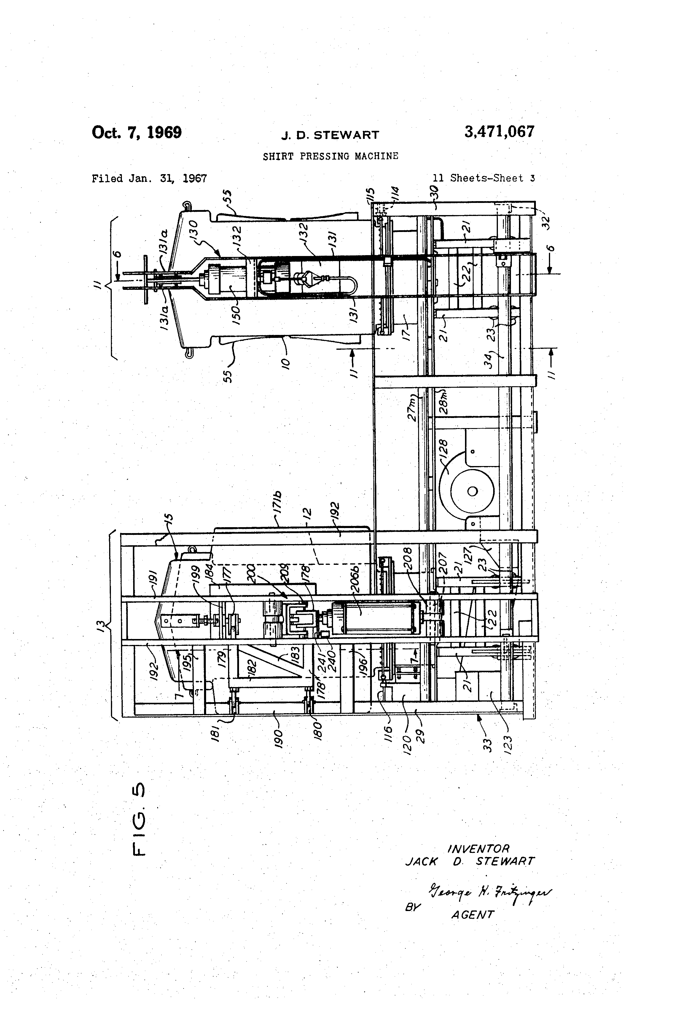 US3471067 2 patent us3471067 shirt pressing machine google patents  at nearapp.co