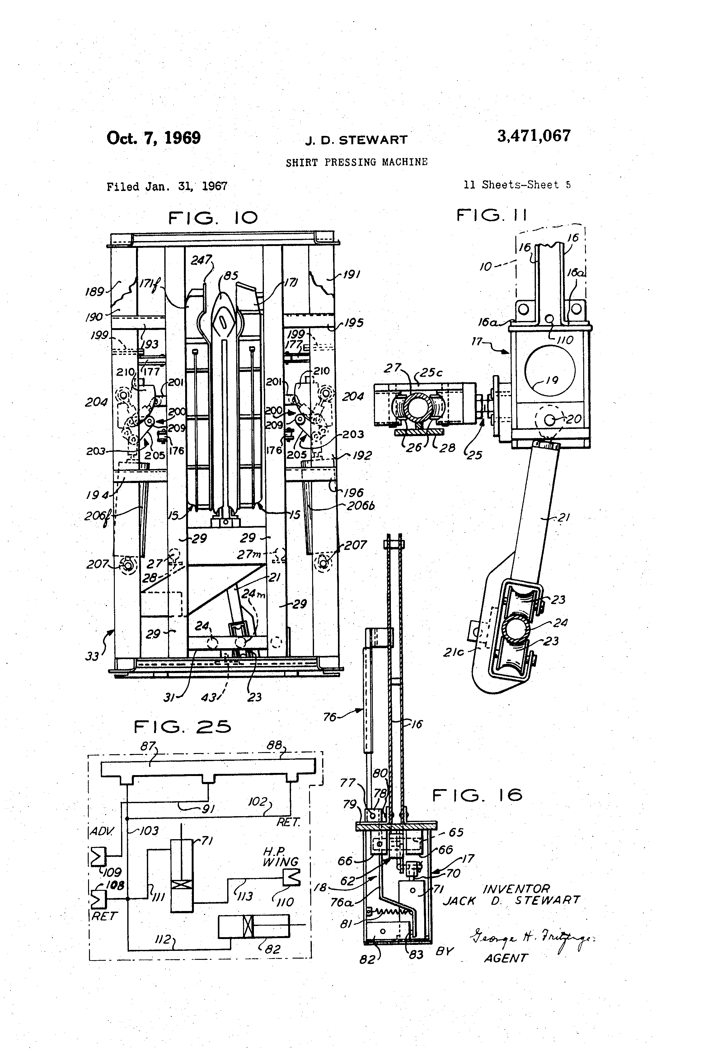US3471067 4 patent us3471067 shirt pressing machine google patents  at nearapp.co
