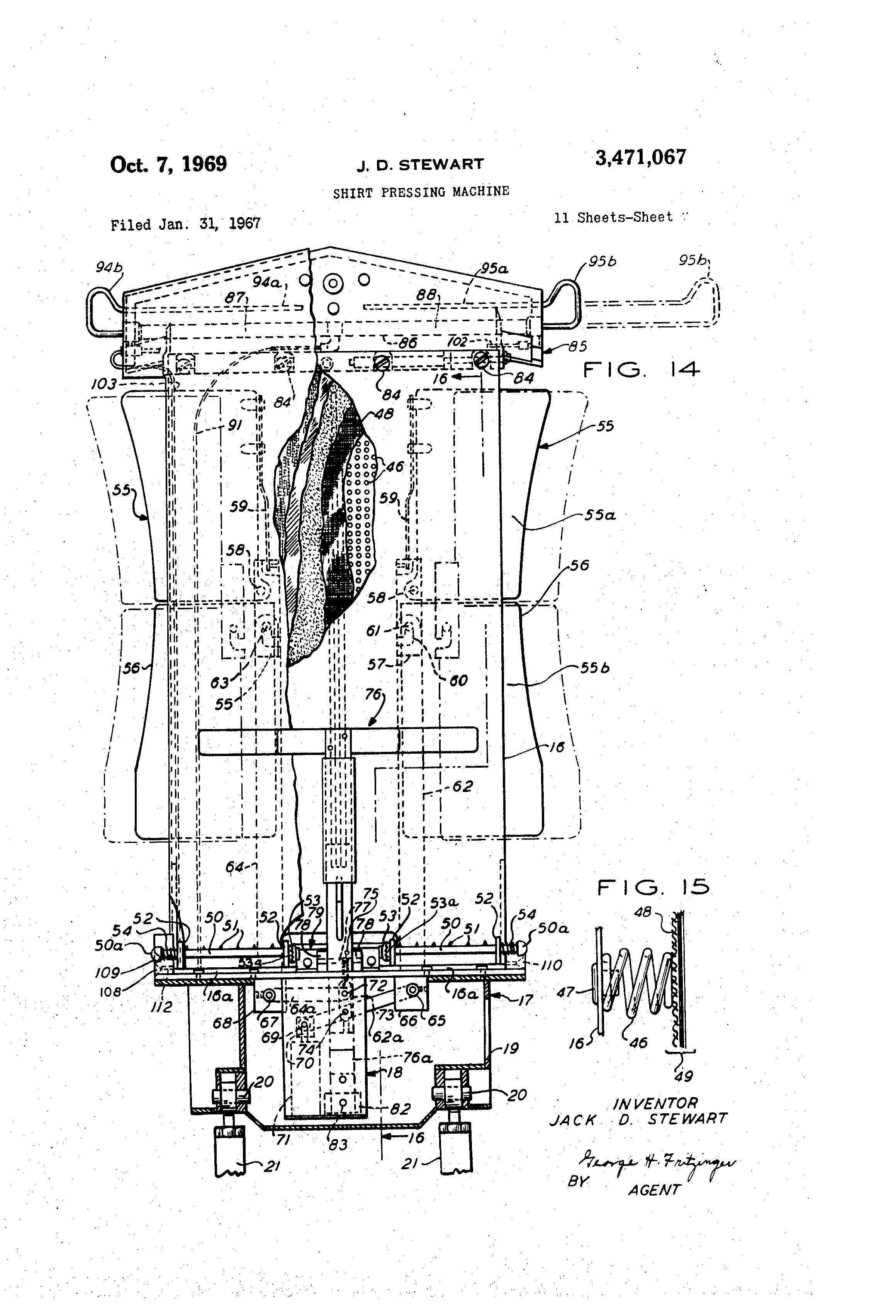 US3471067 6 patent us3471067 shirt pressing machine google patents  at nearapp.co