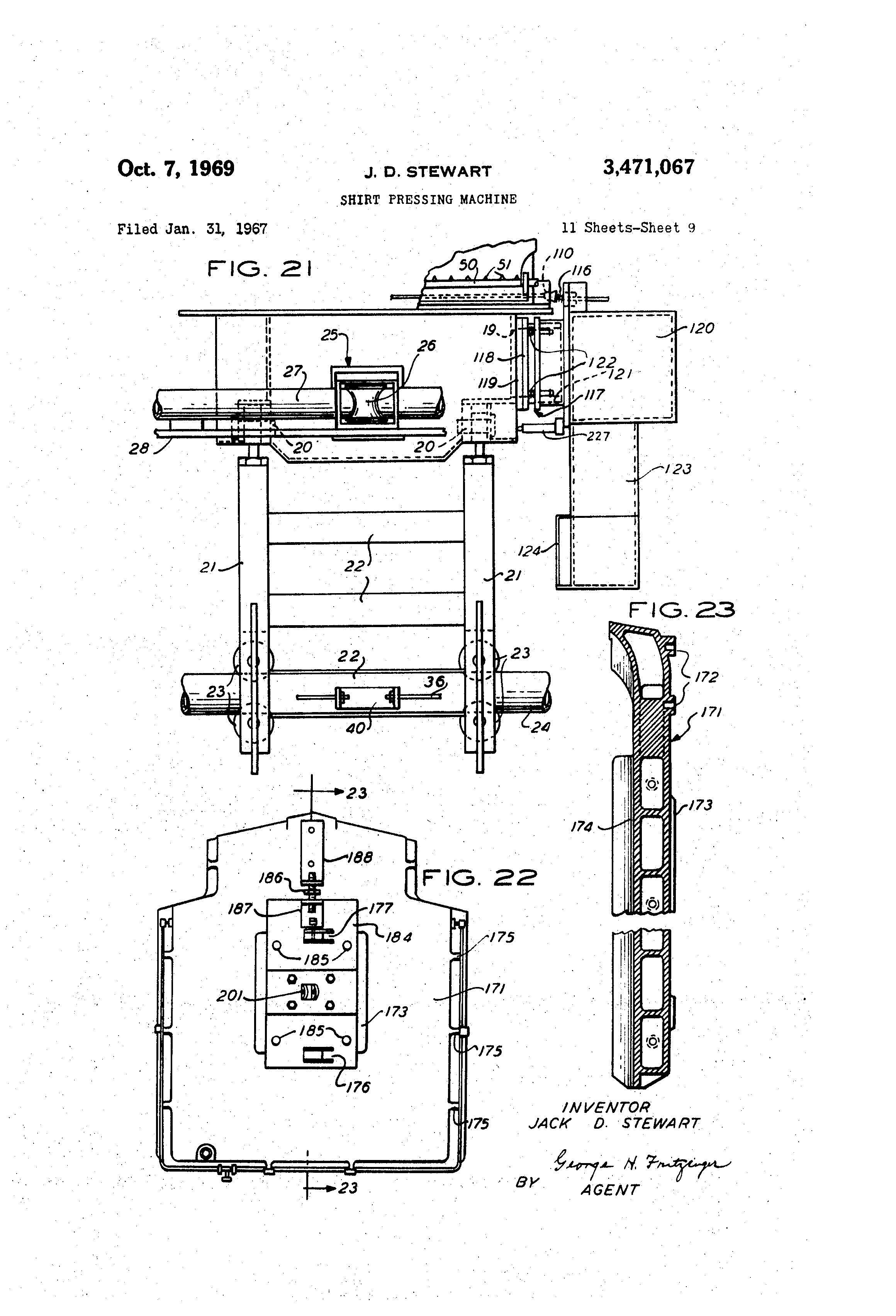 US3471067 8 patent us3471067 shirt pressing machine google patents  at nearapp.co
