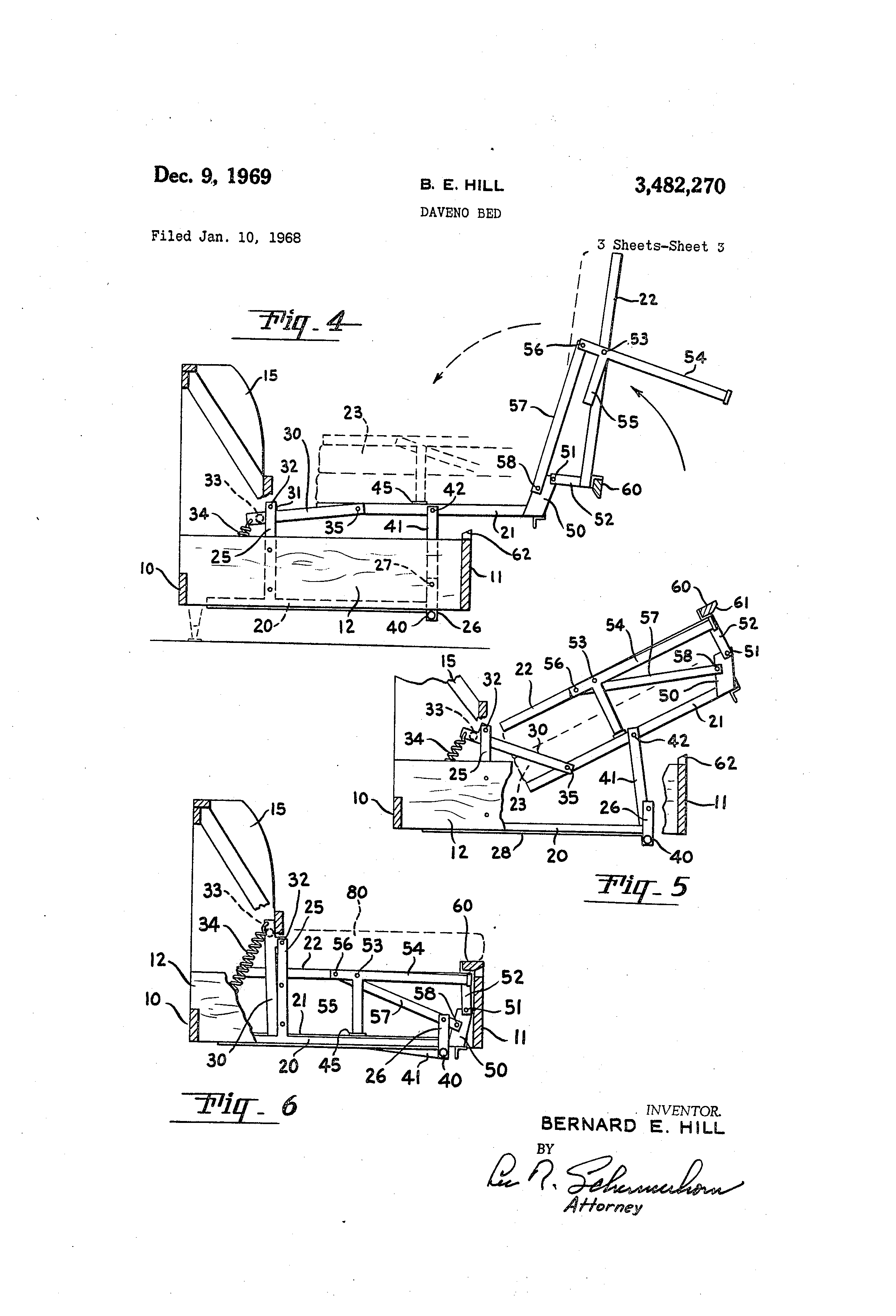 Beautiful Patent Drawing