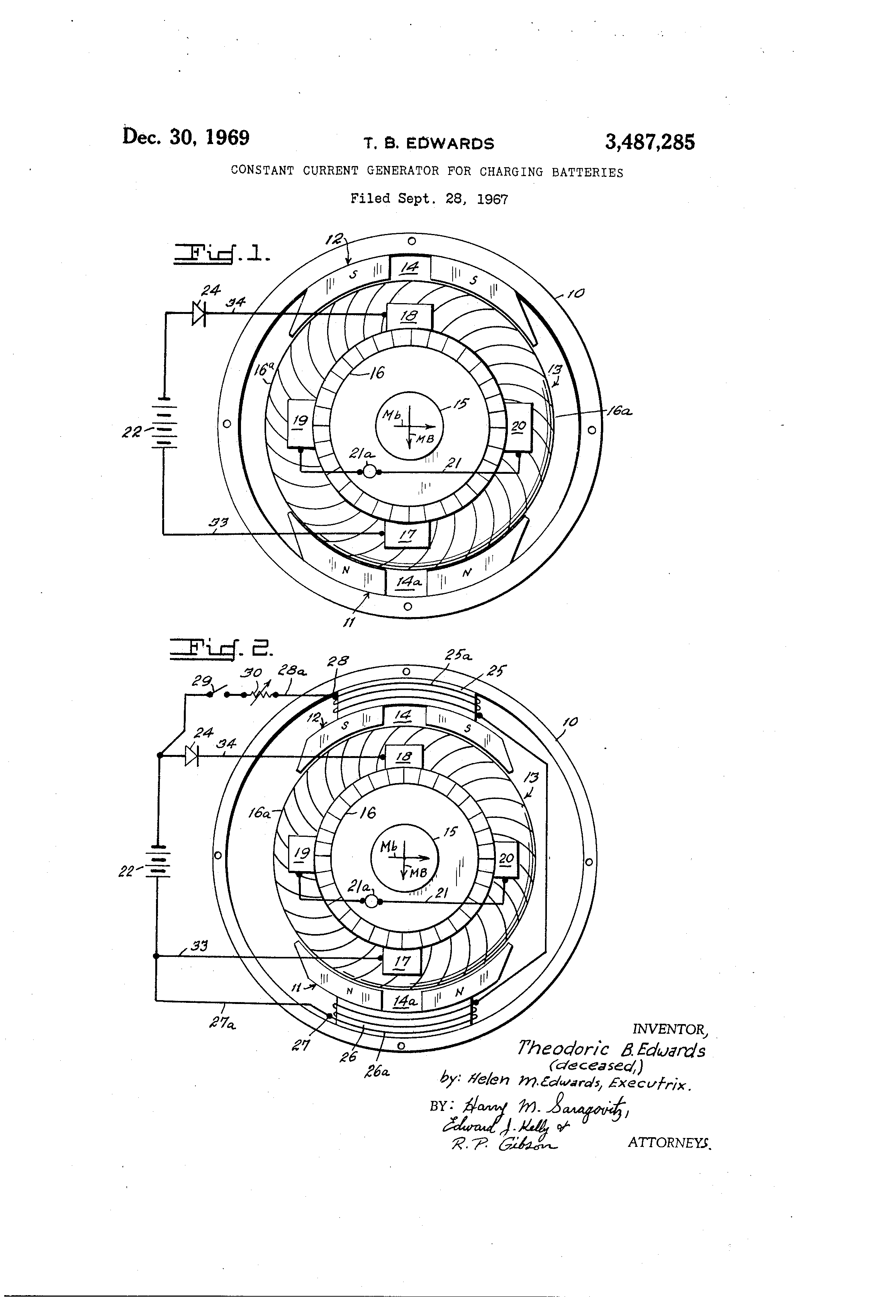 US3487285 0 patent us3487285 constant current generator for charging acme piu wiring diagram at bakdesigns.co
