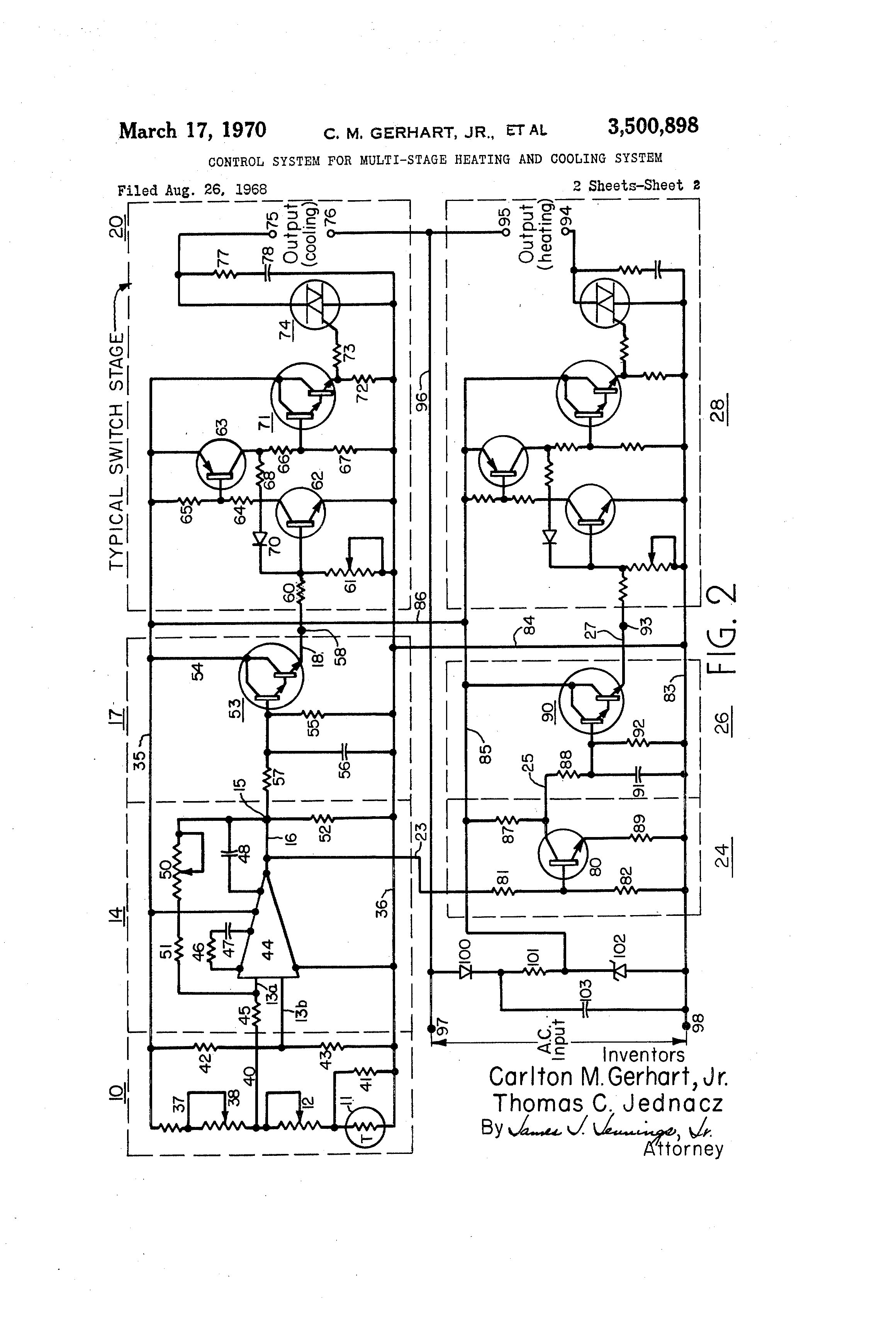 Multi stage heating and cooling - Patent Drawing