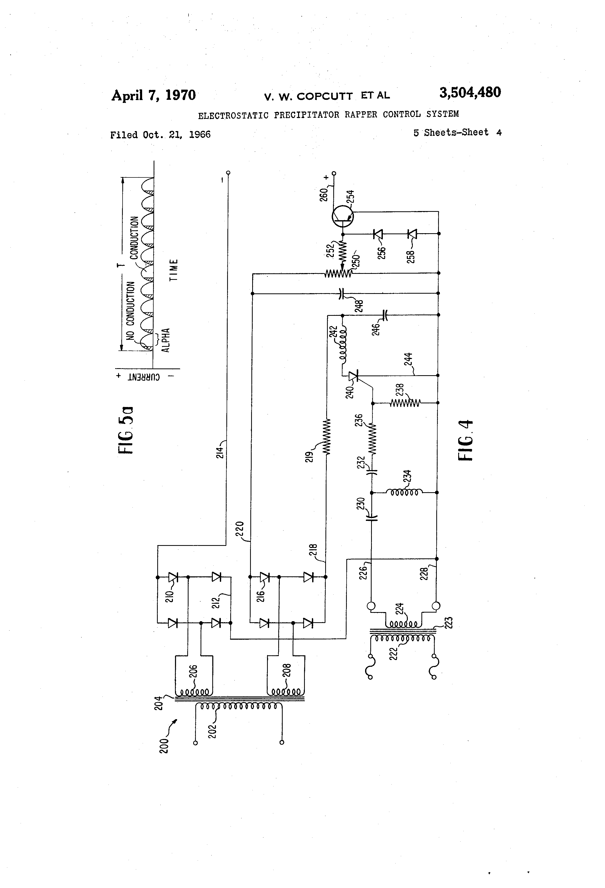 US3504480 3 patent us3504480 electrostatic precipitator rapper control esp ltd kh 202 wiring diagram at gsmx.co