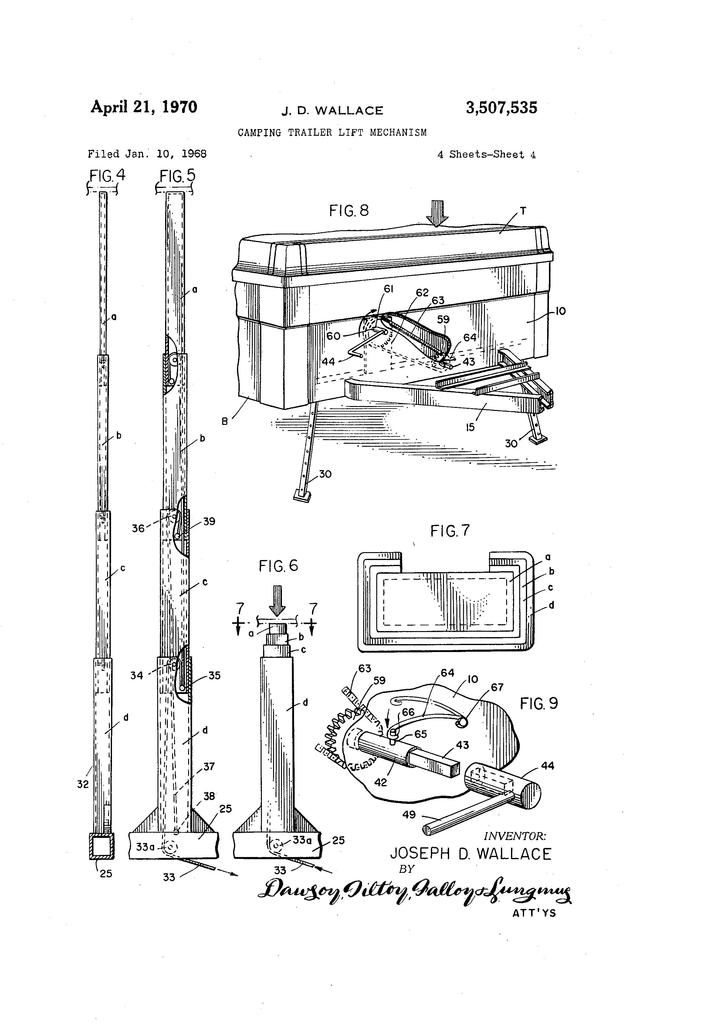 diagram of coleman pop up lift system wiring source 7 pin camper wiring diagram rvworkshop further 2004 jayco wiring diagram further wiring diagram for 2001 coleman pop up c er