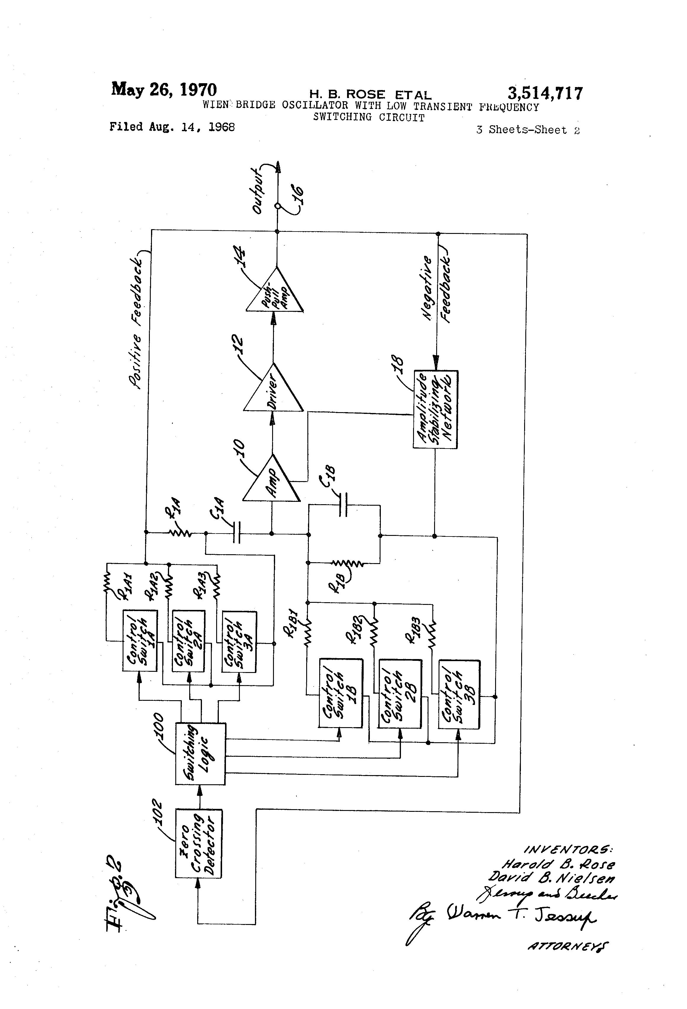 Weinbridgeoscillatorcircuit