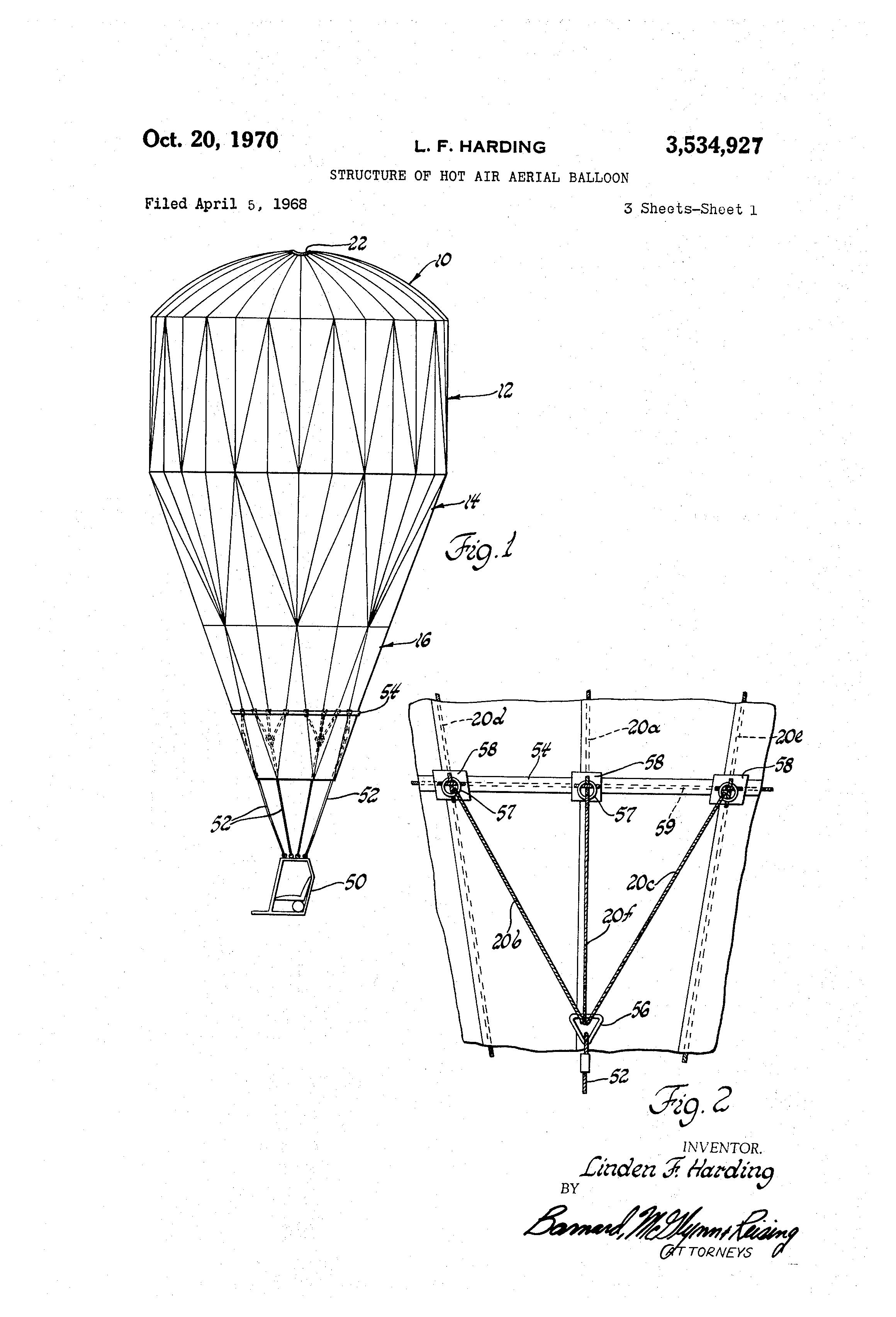 Patent Us3534927