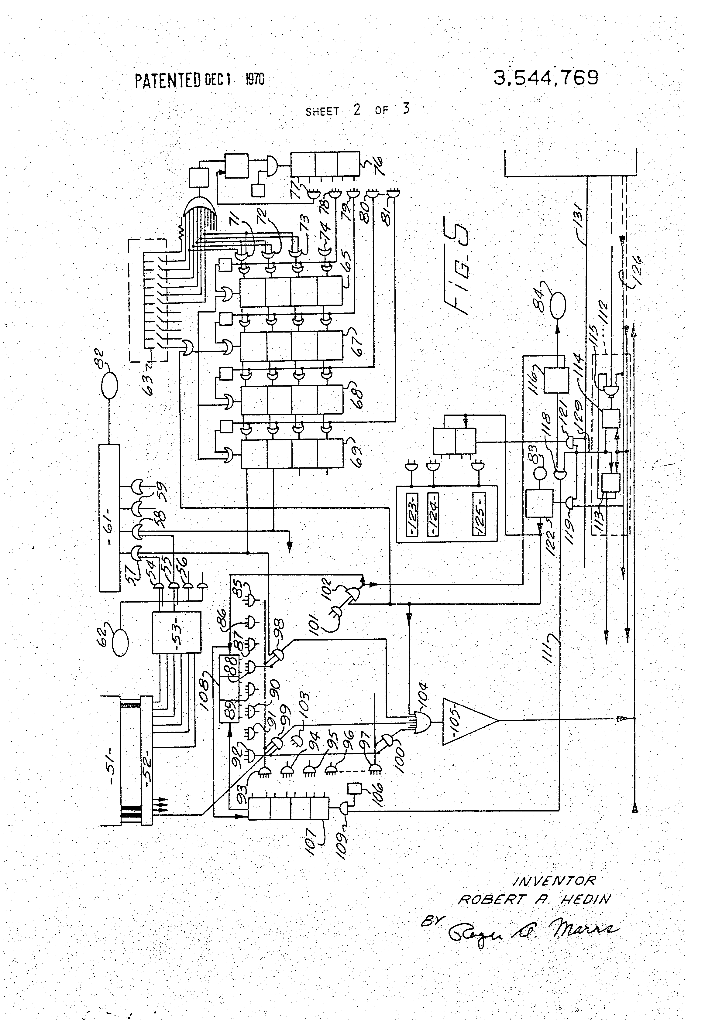 patent us3544769 - electronic identification and credit card system