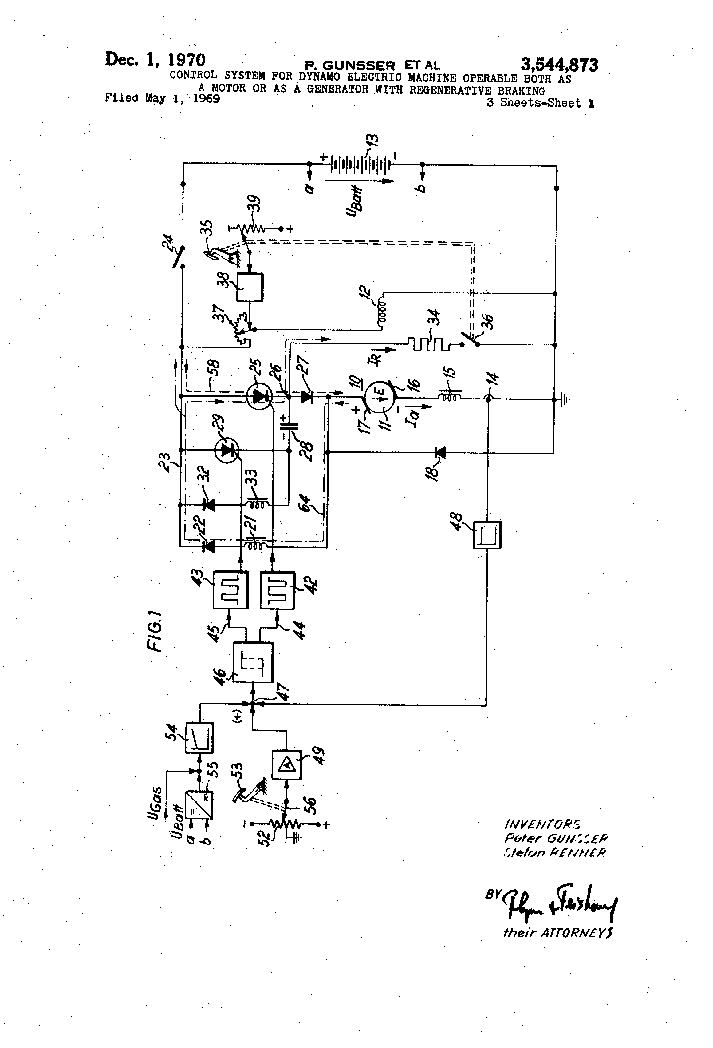 Chopper Circuit For Dynamic Braking In An Electric Power Conversion