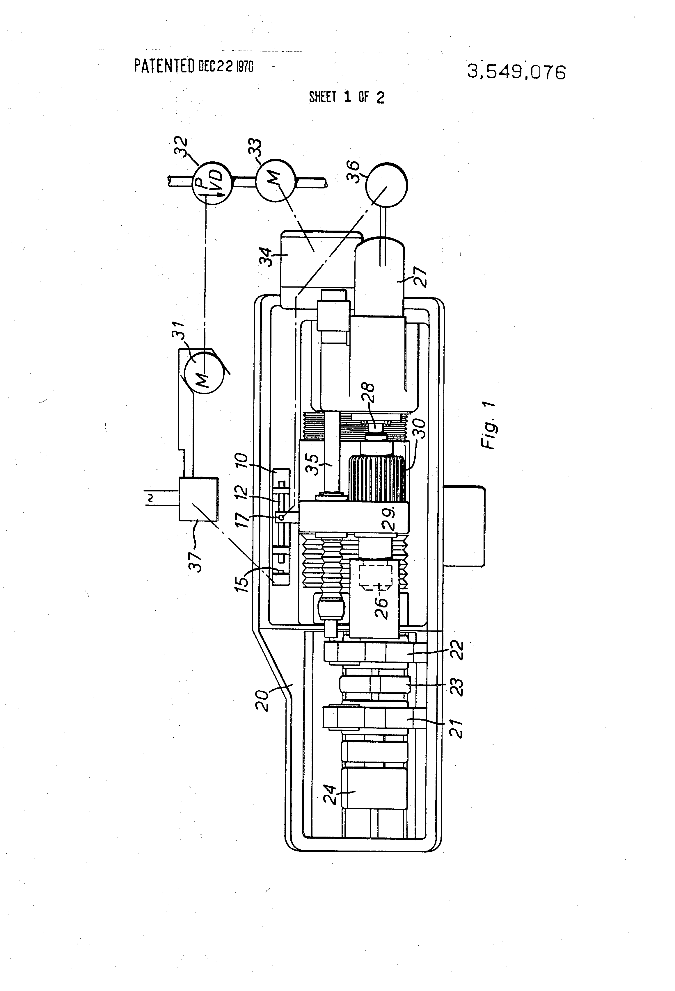 Patent Us3549076 Friction Welding Apparatus With Micrometer Weld Diagram Drawing