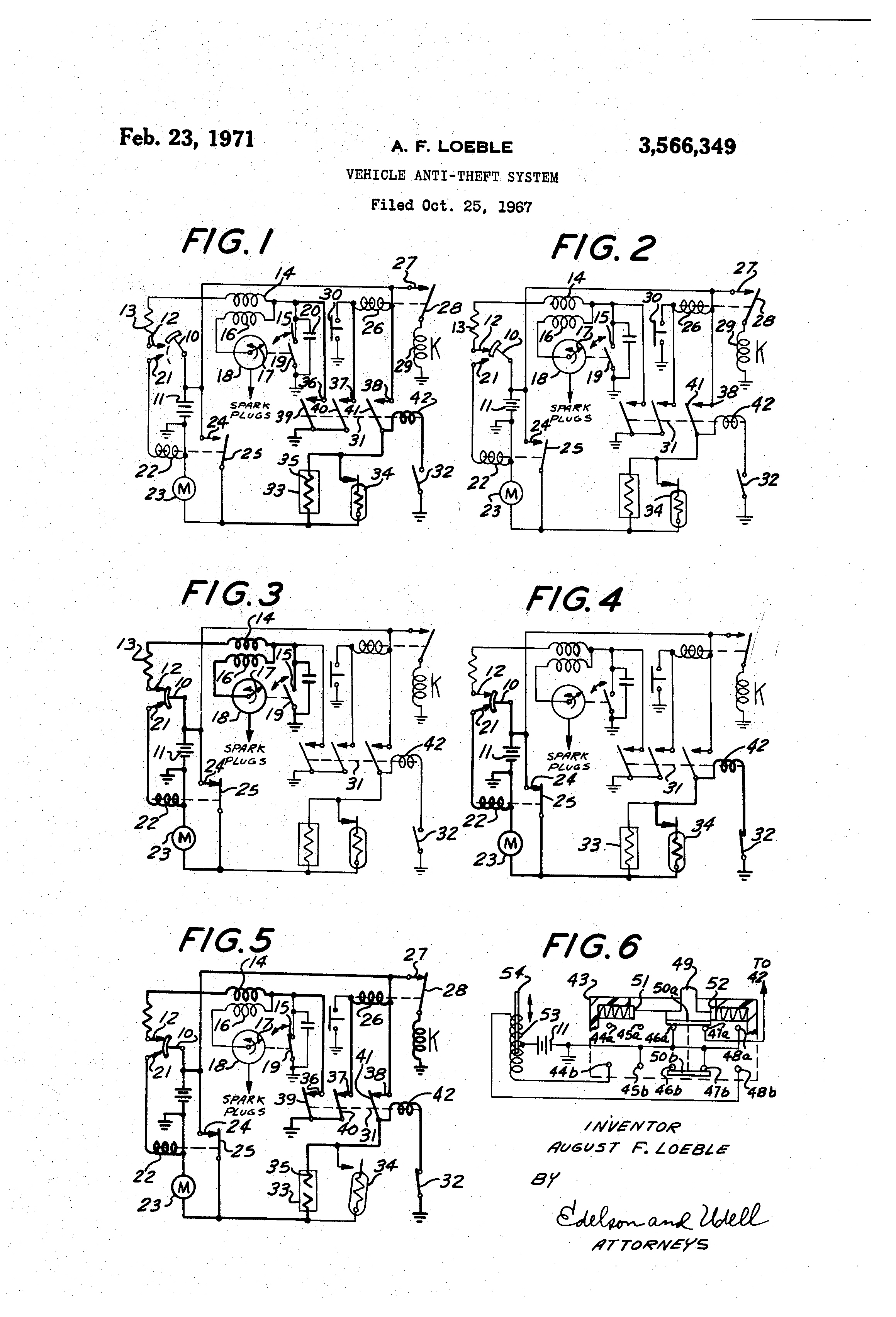 Circuit Latch In One Of Two States Either Motor Energized Or Motor De