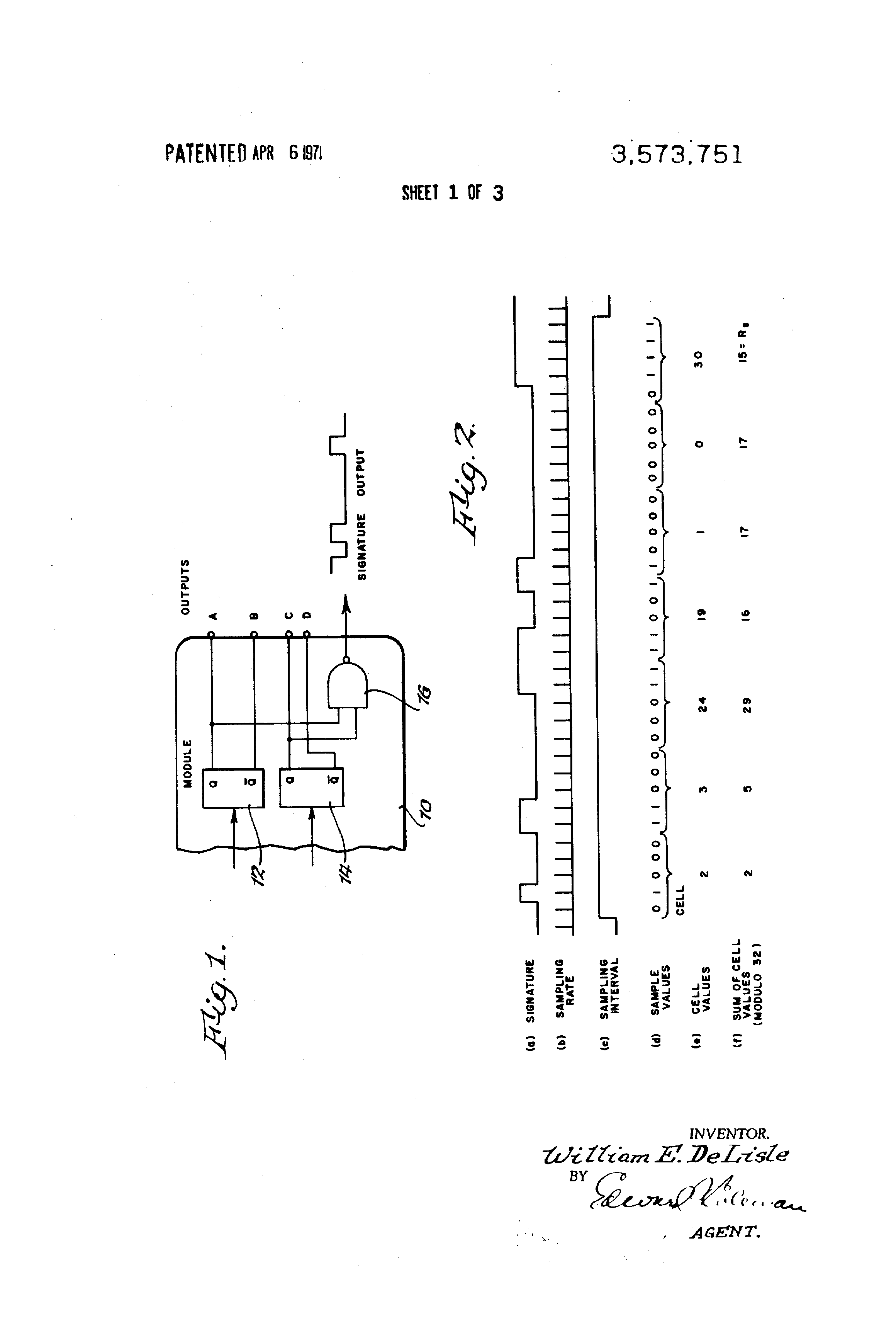 Patent Us3573751 Fault Isolation System For Modularized