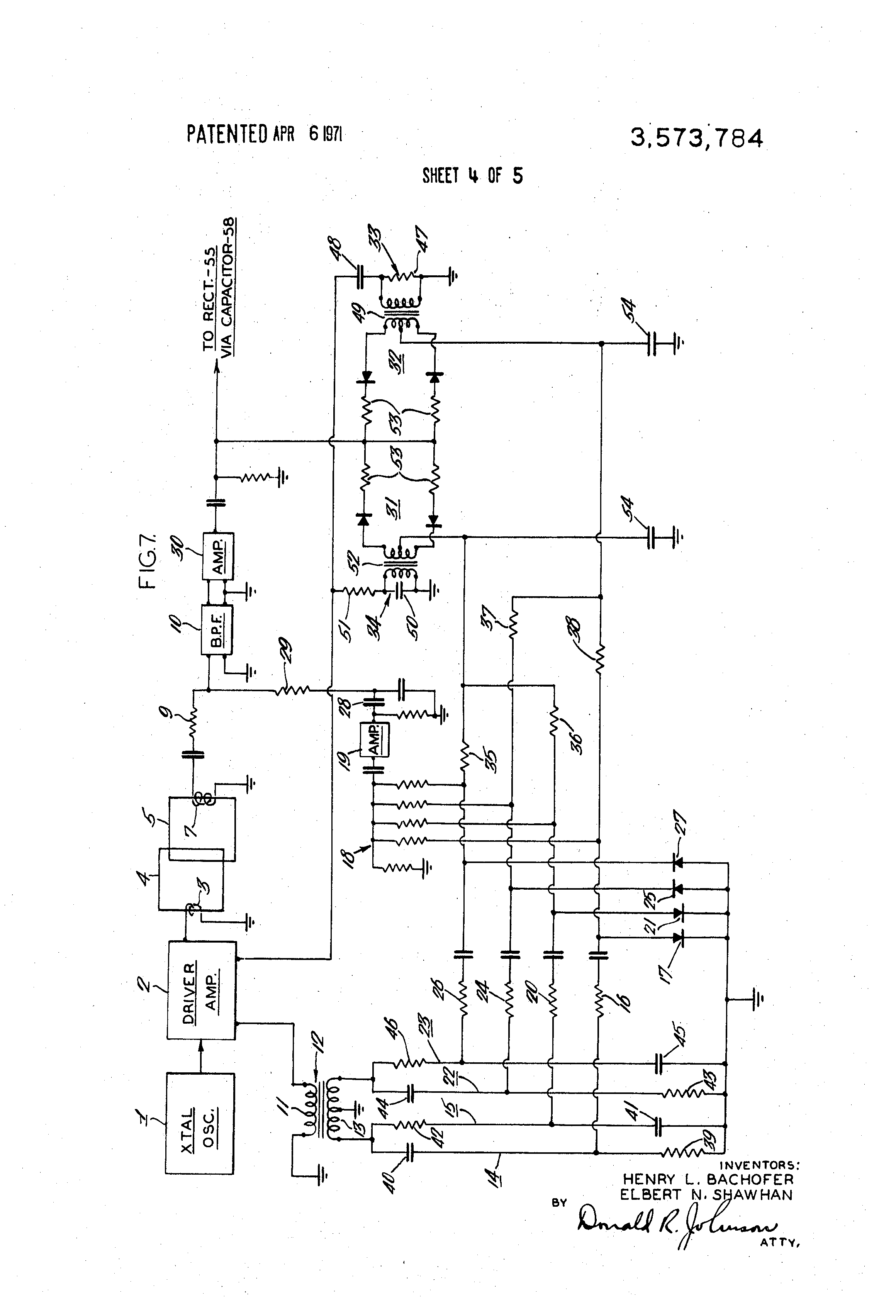 US3573784 4 patent us3573784 metal detecting apparatus for conveyor belt asv rc60 wiring diagram at gsmportal.co