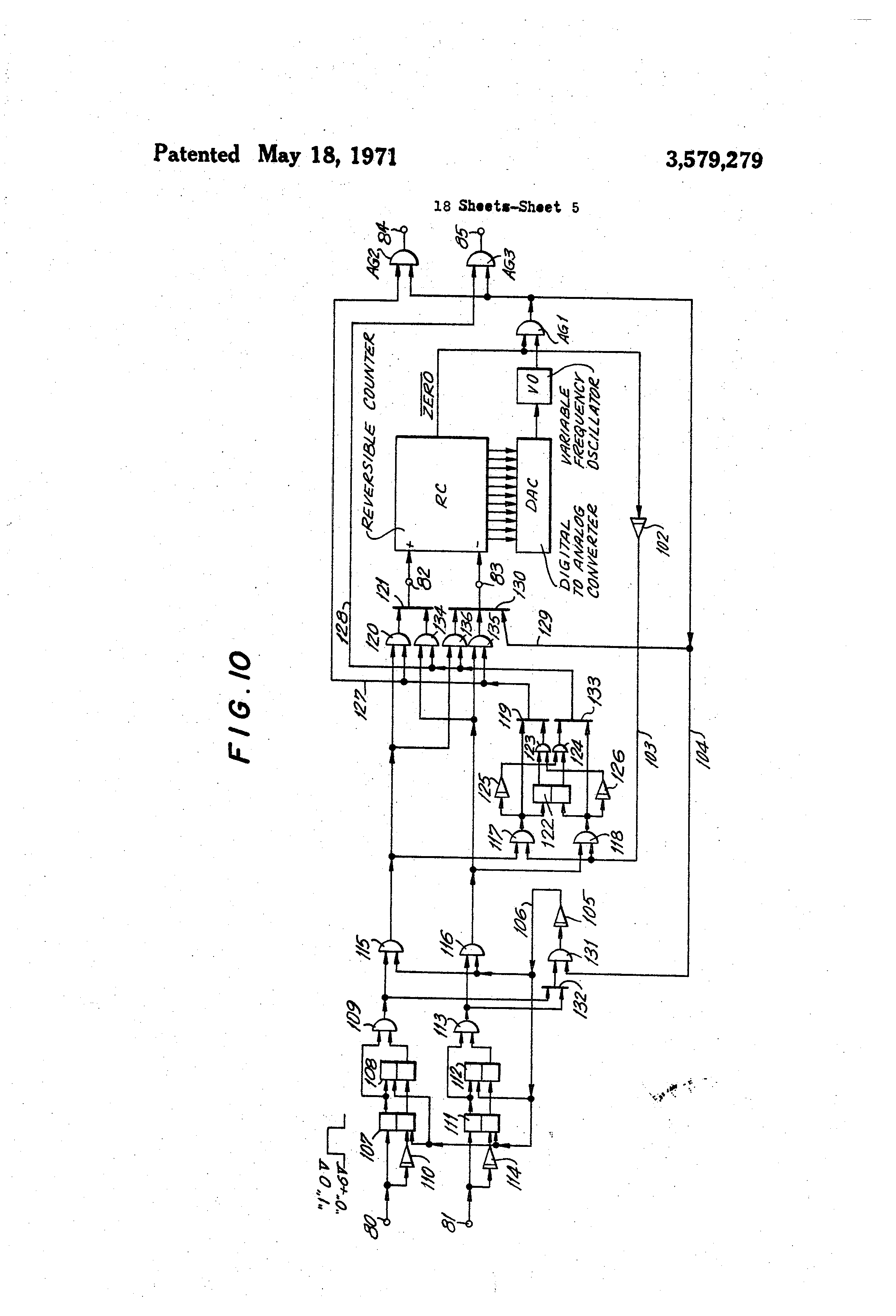 Patent Us3579279 Step Motor Acceleration Deceleration Control Schematic Symbols Chart As Well Stepper Driver Circuit Diagram Drawing