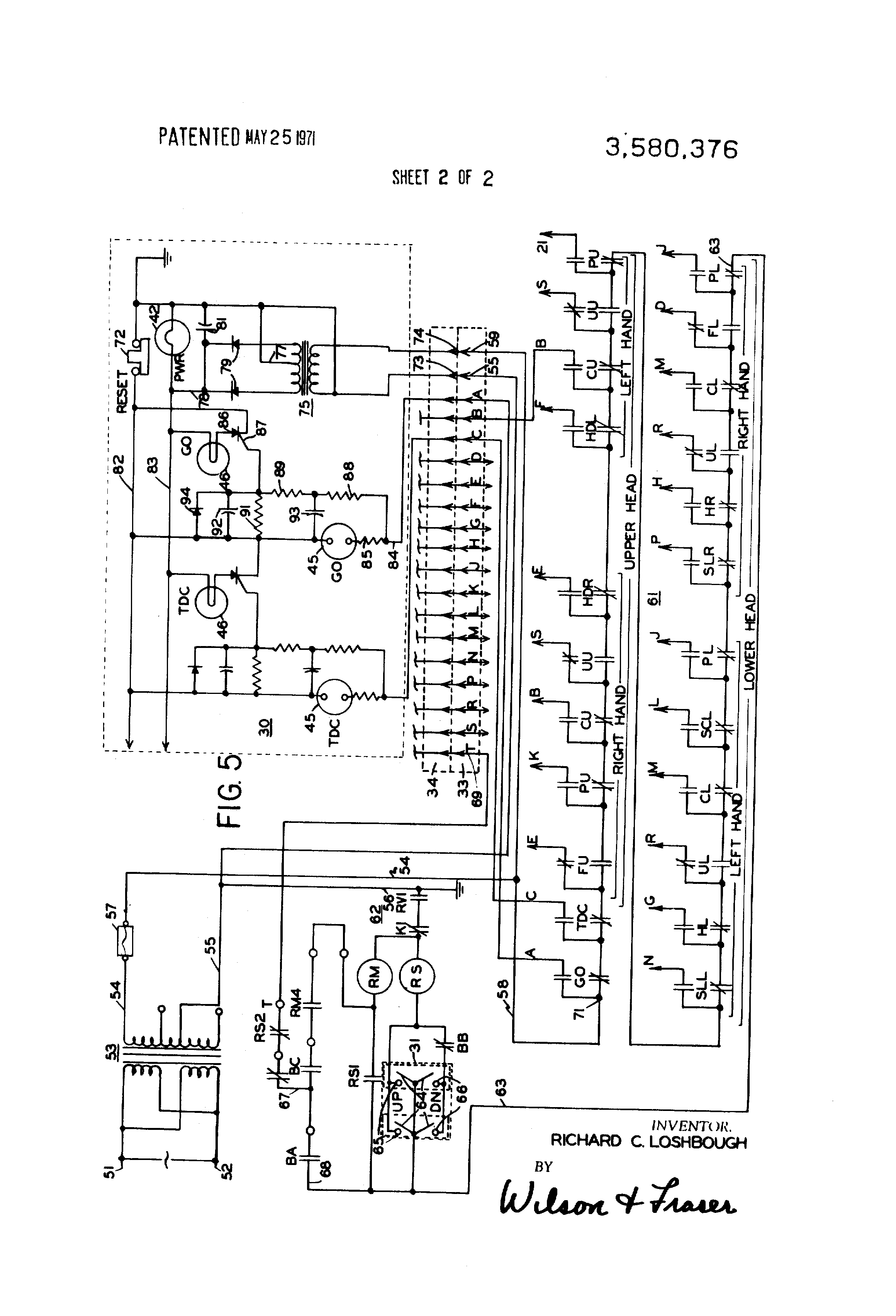 Patent Us3580376 Escalator System Having Fault Indicator
