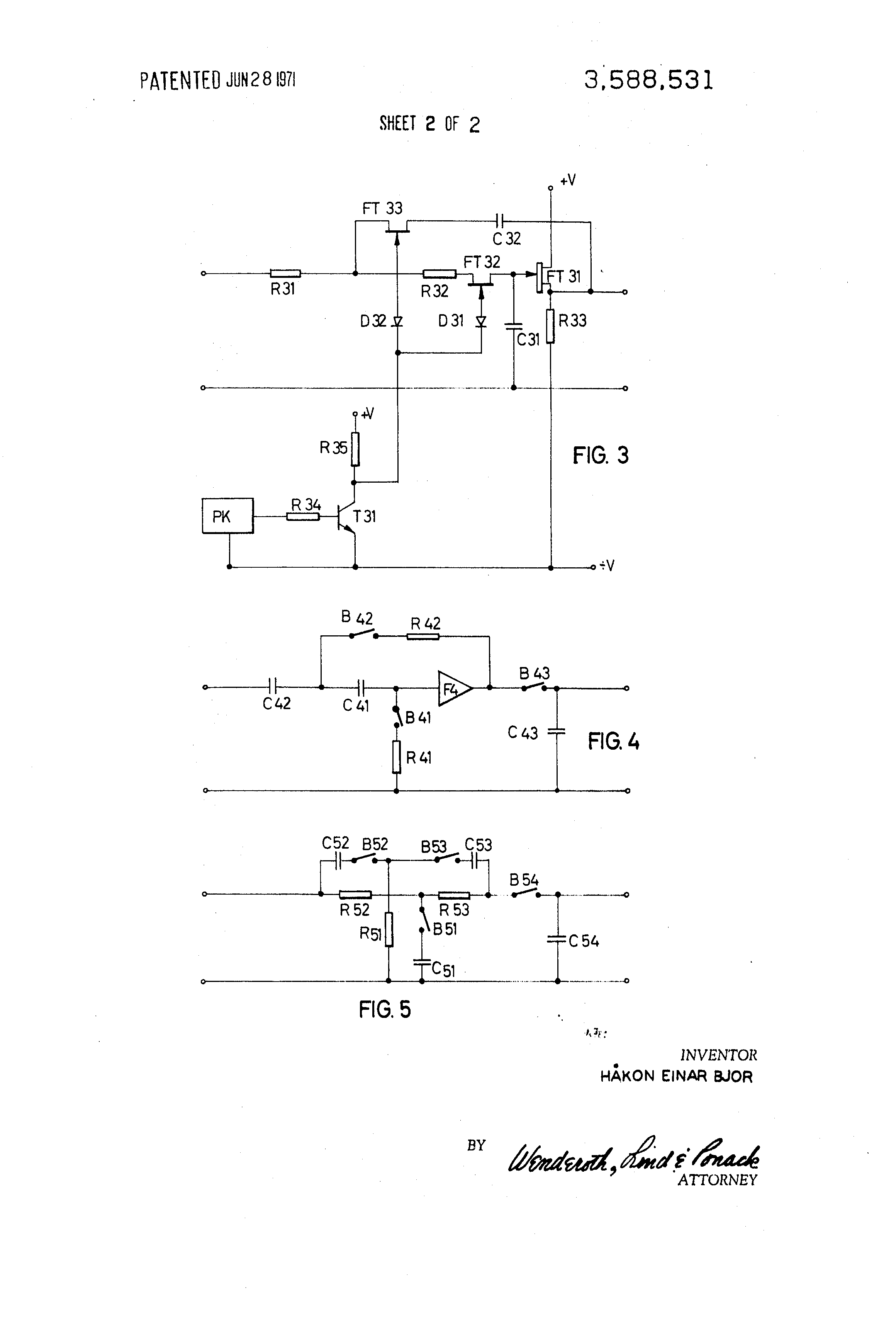 Brevet Us3588531 Analog Network Based On Sampling For Universal Com Circuitdiagram Basiccircuit Filtercircuit Highpassfilter Patent Drawing