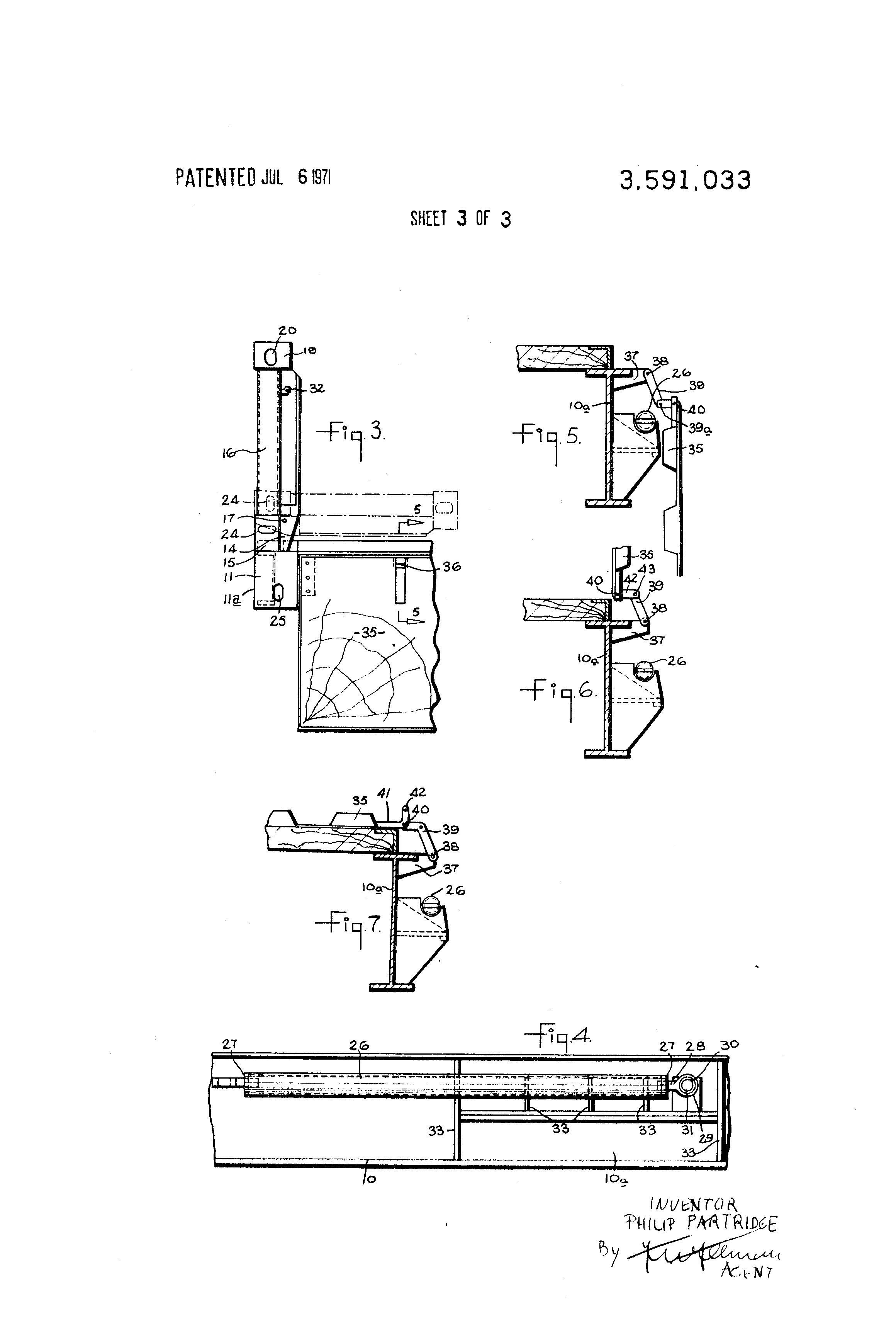Patent Us3591033 Lifting Platforms For Supporting Loads Google 7 Way Trailer Plug Wiring Diagram Contrail Triler Drawing