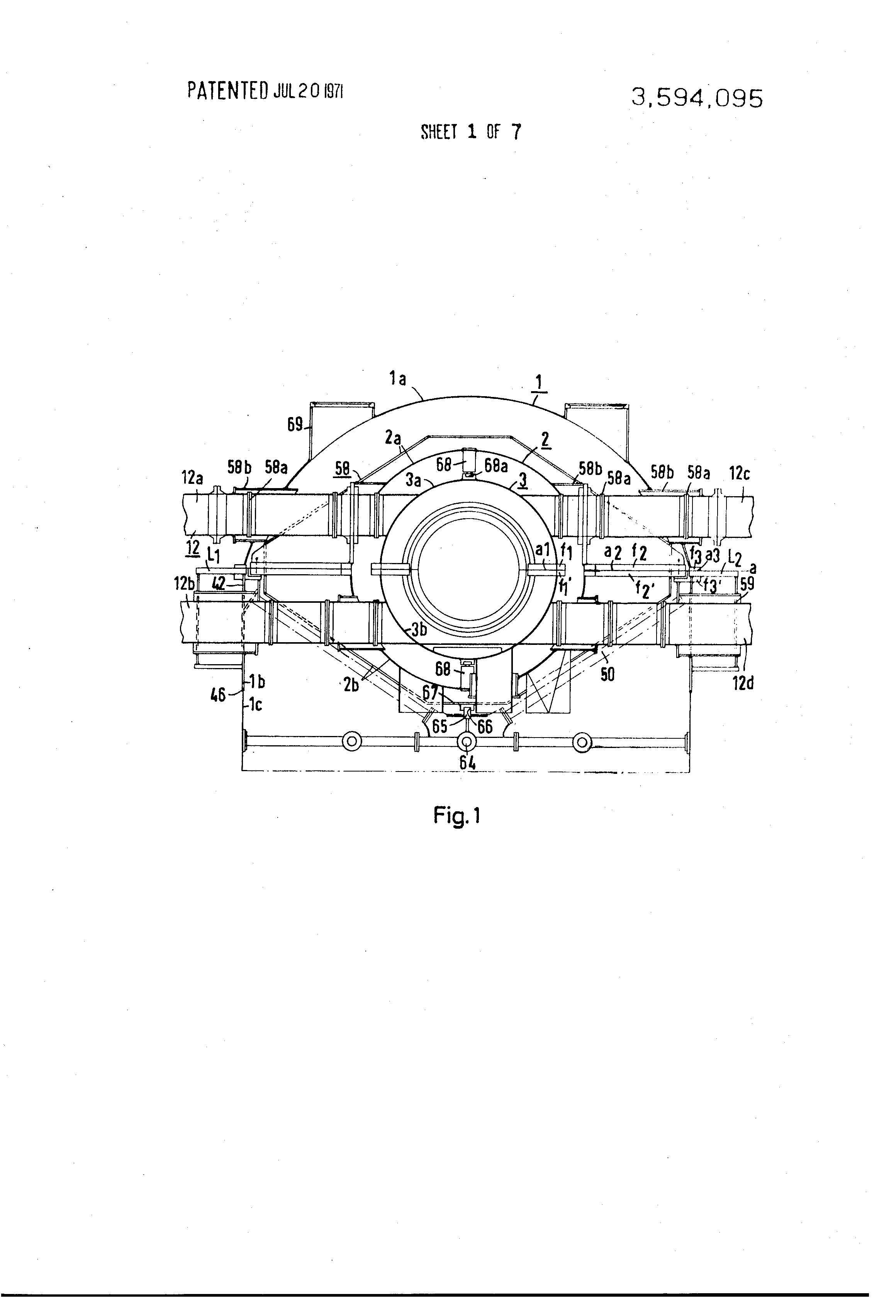 Patent US Casing for low pressure stages of steam