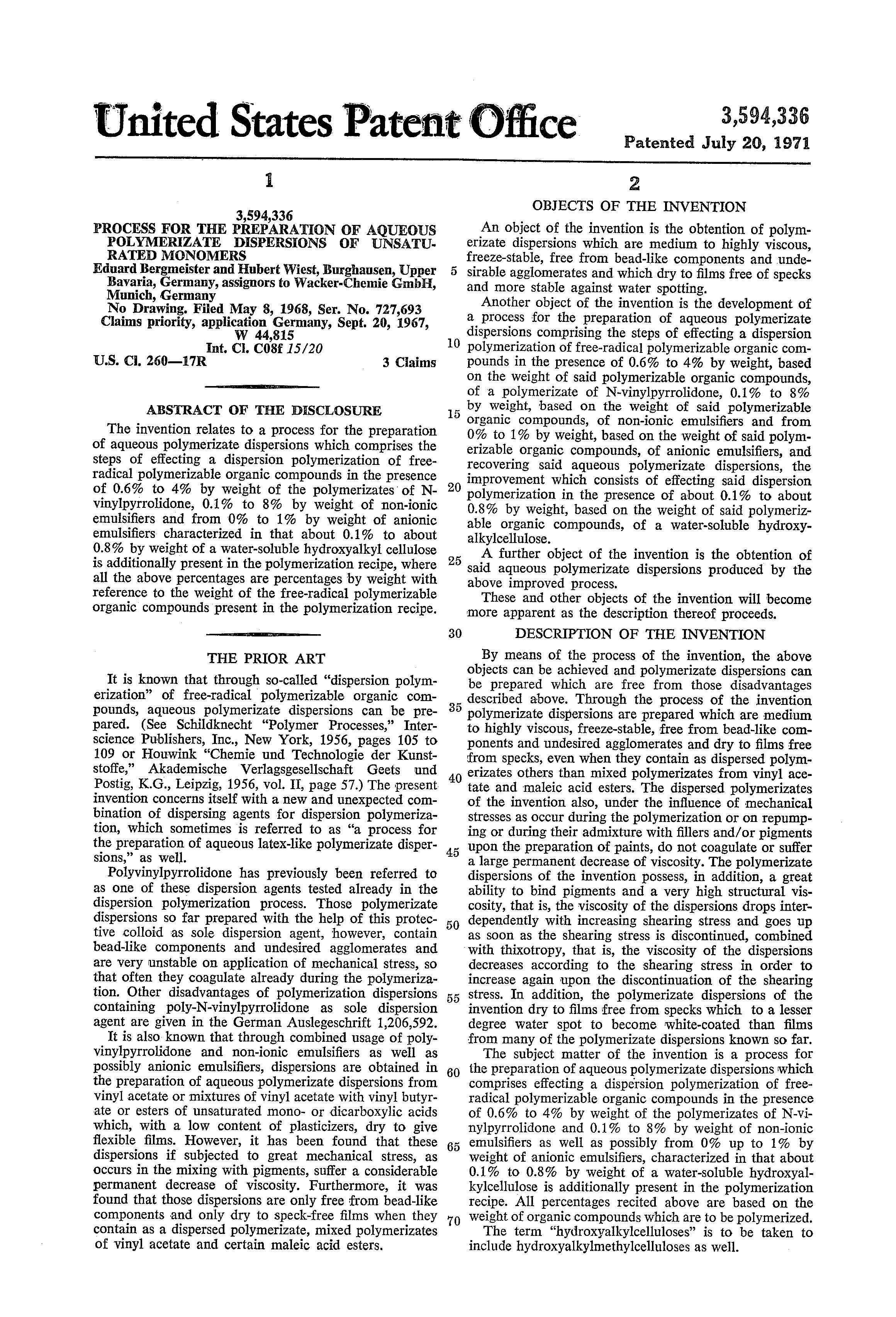 Patentsuche Deutschland