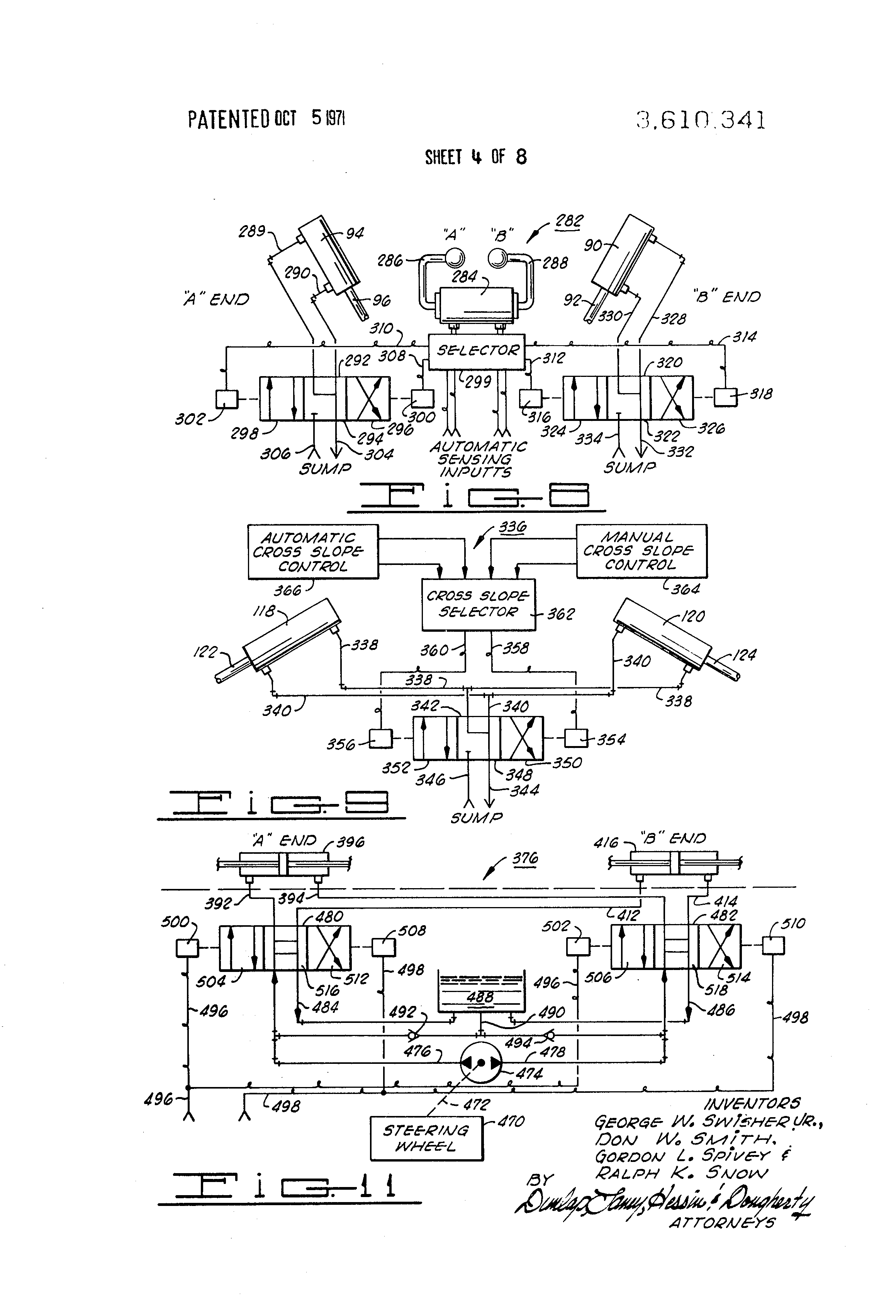 Patent US3610341 Motorgrader control system Google Patents – Ih 284 Wiring Diagram