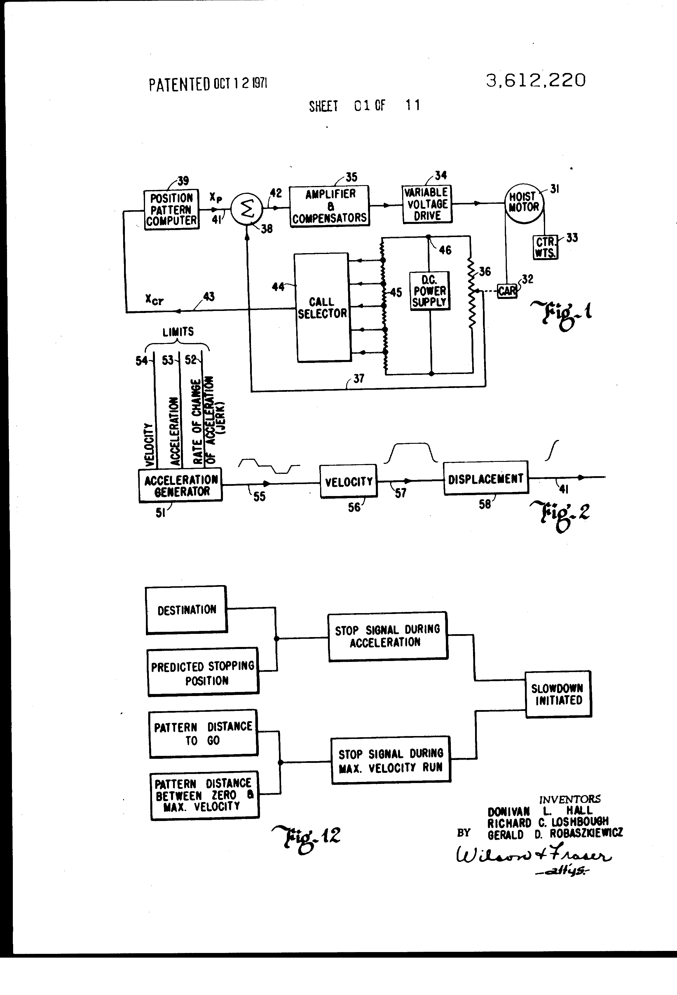 Marantec Comfort 220 Wiring Diagram 35 Images Garage Door Opener Us3612220 1 Patent Elevator Control Google Patents At Highcare