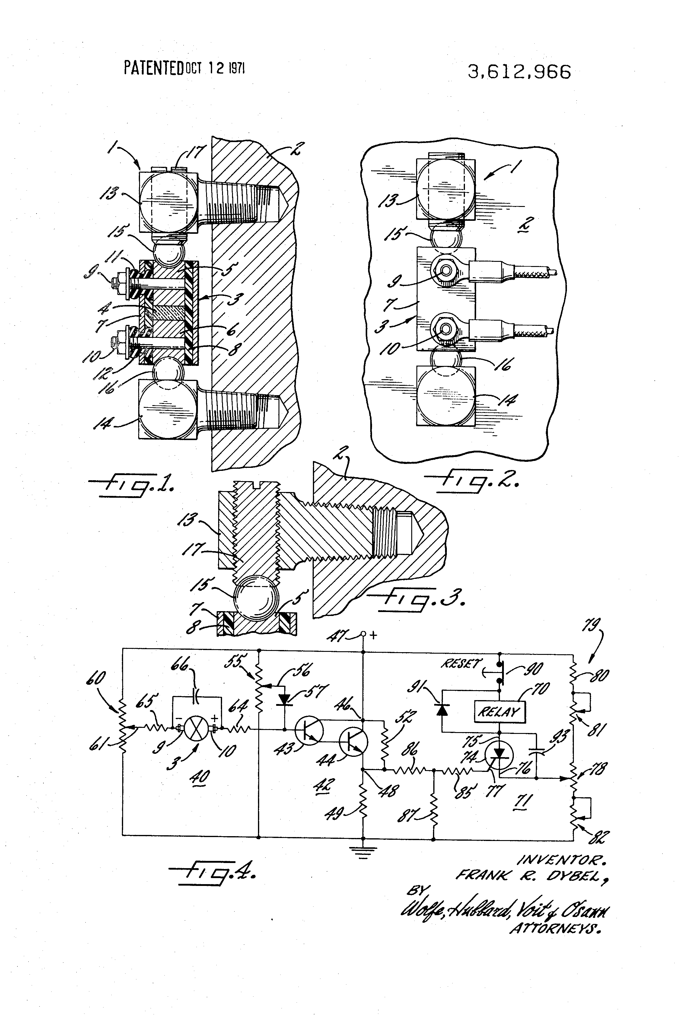 Patent Us3612966 Piezoelectric Transducer With Improved Sensing Circuit Diagram Of A Darlington Pair Using Npn Transistors Drawing