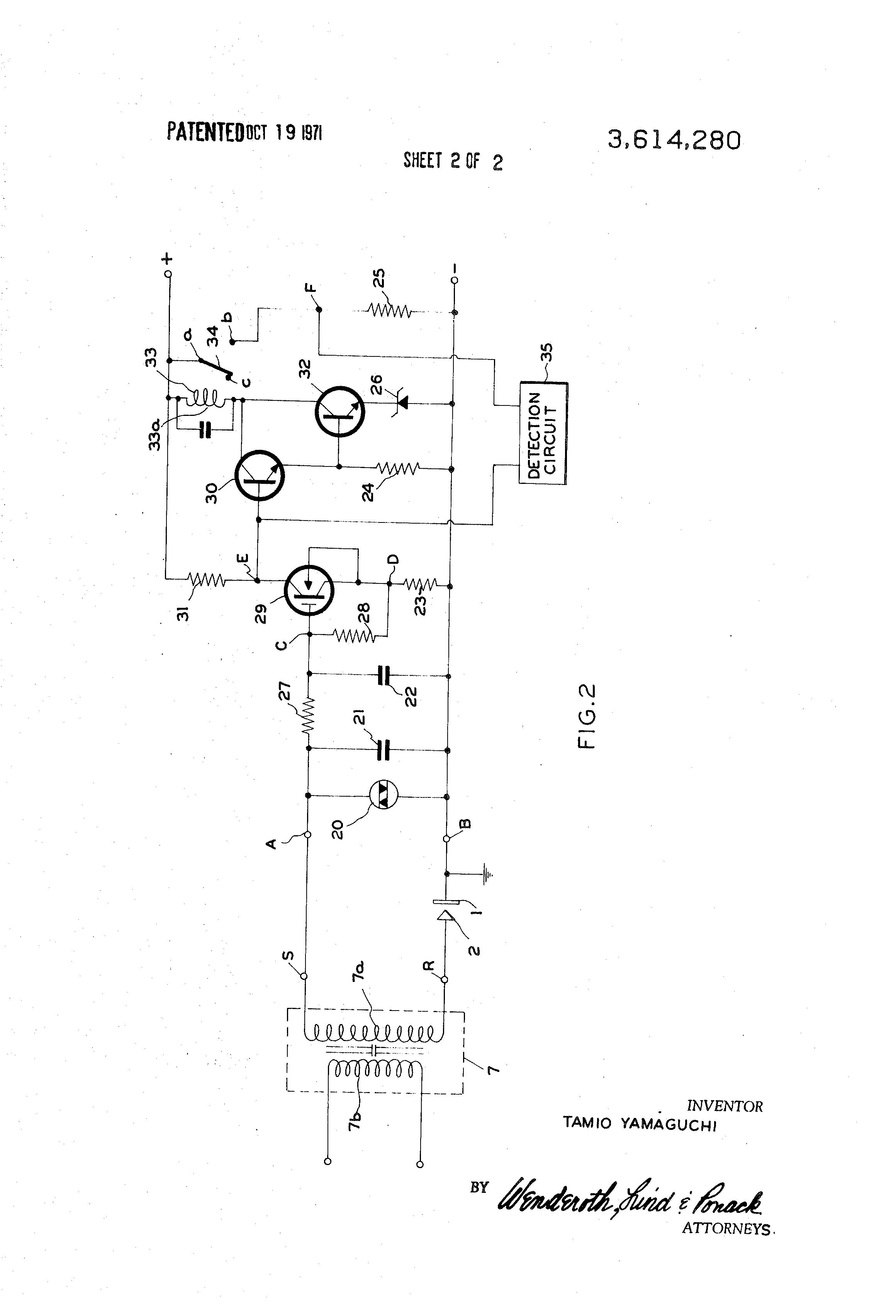 Flame Detector Sensor Circuit Diagram