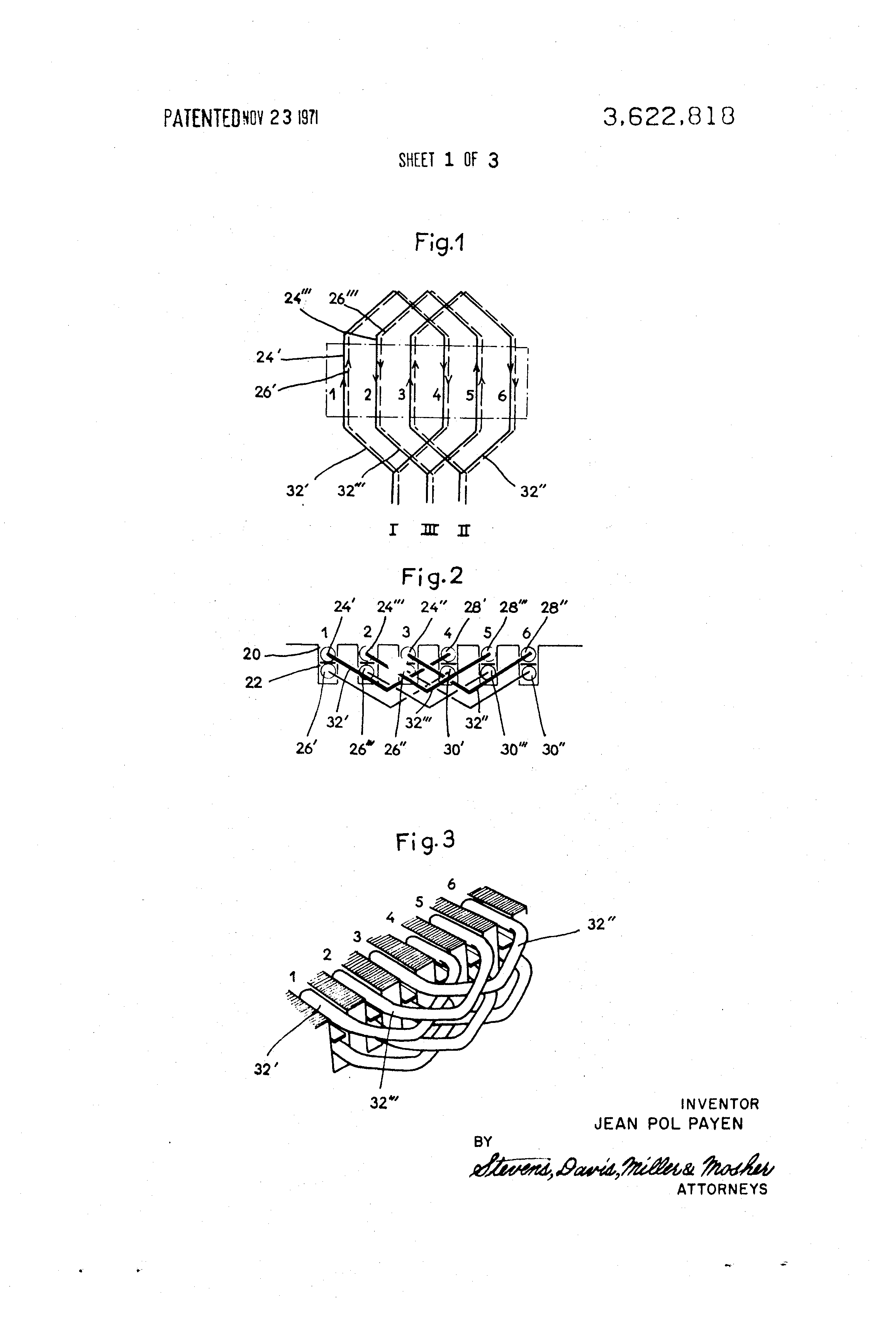 Patent us3622818 linear induction motor winding google for Linear induction motor winding