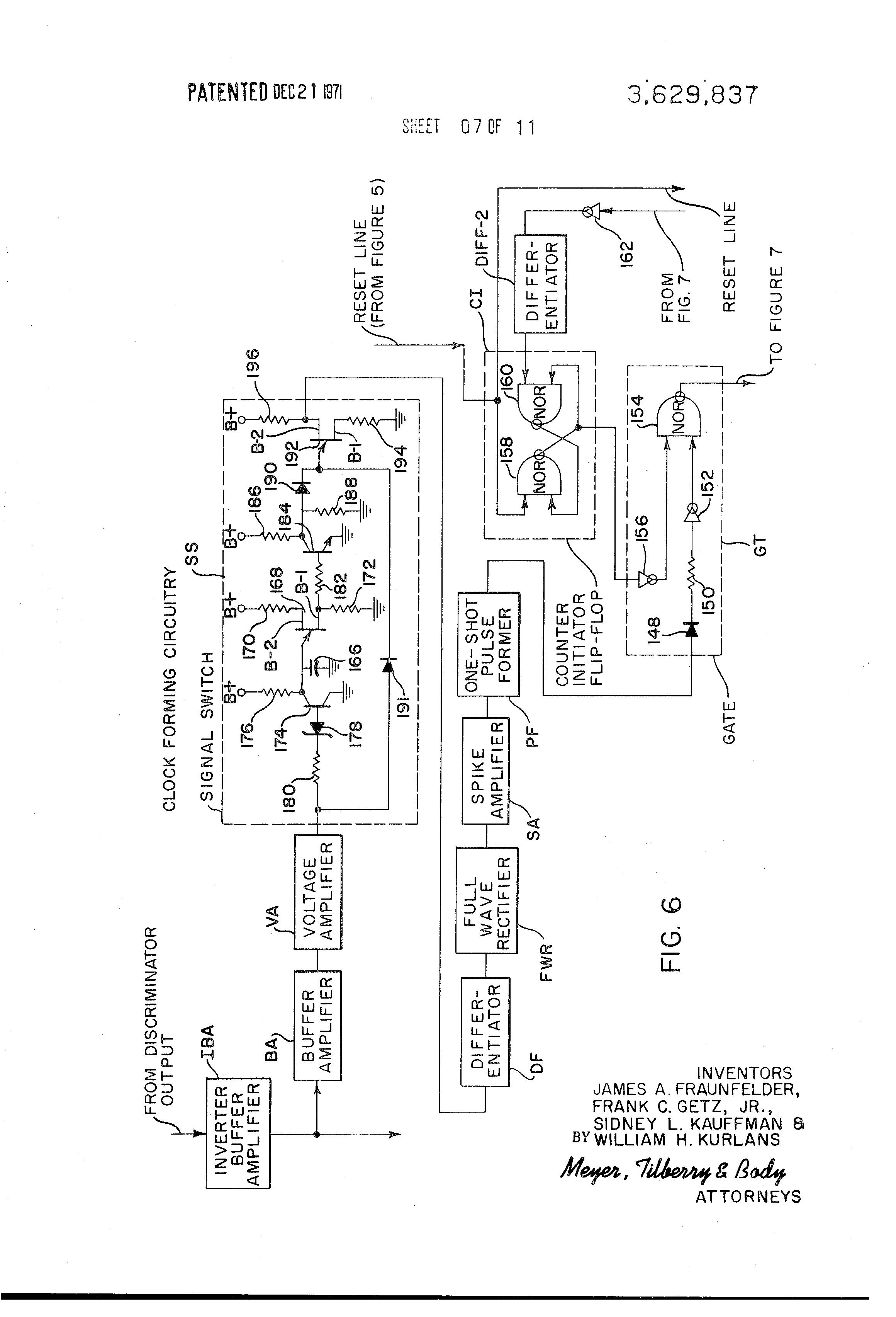 Patente Us3629837 Coded Signal Communication System Google Patentes Astable Flipflop Multivibrator Circuit Oscillatorcircuit Patent Drawing