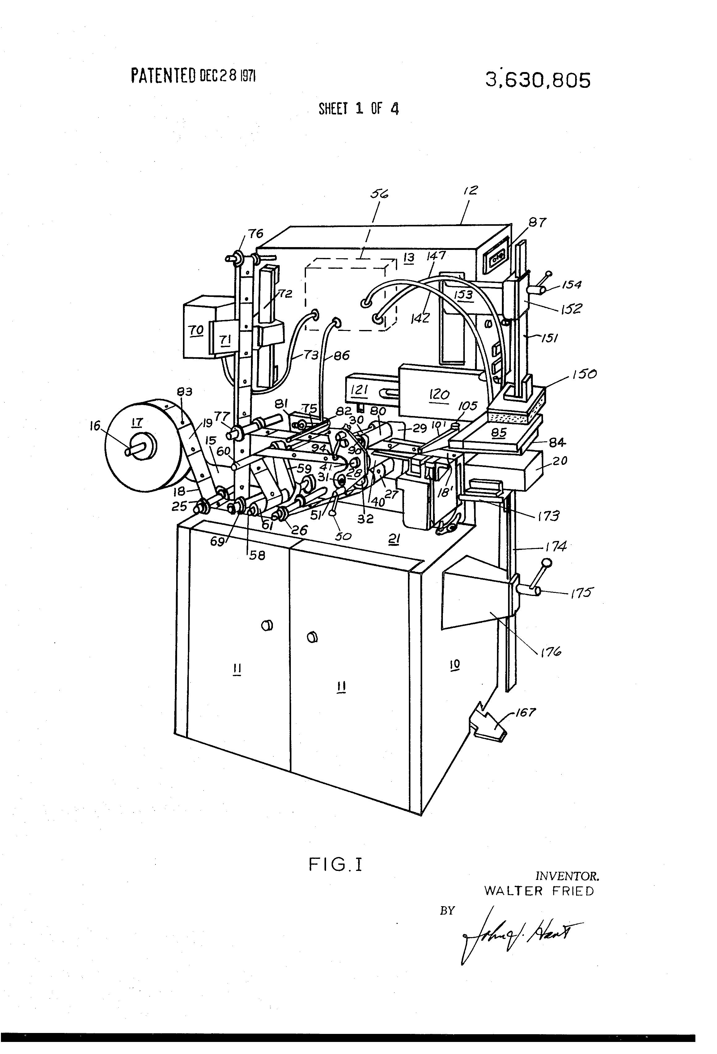 label applying machine