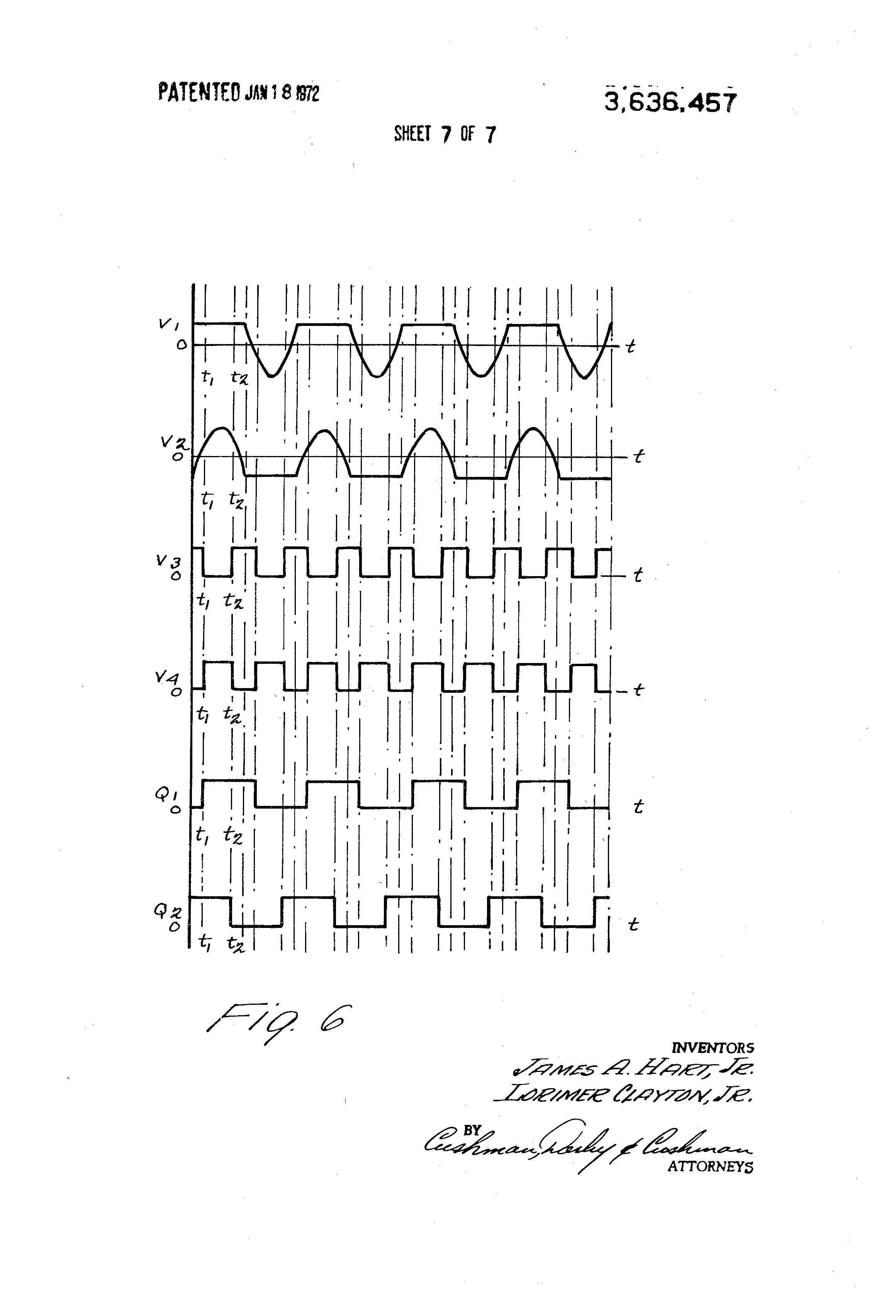 patent us3636457