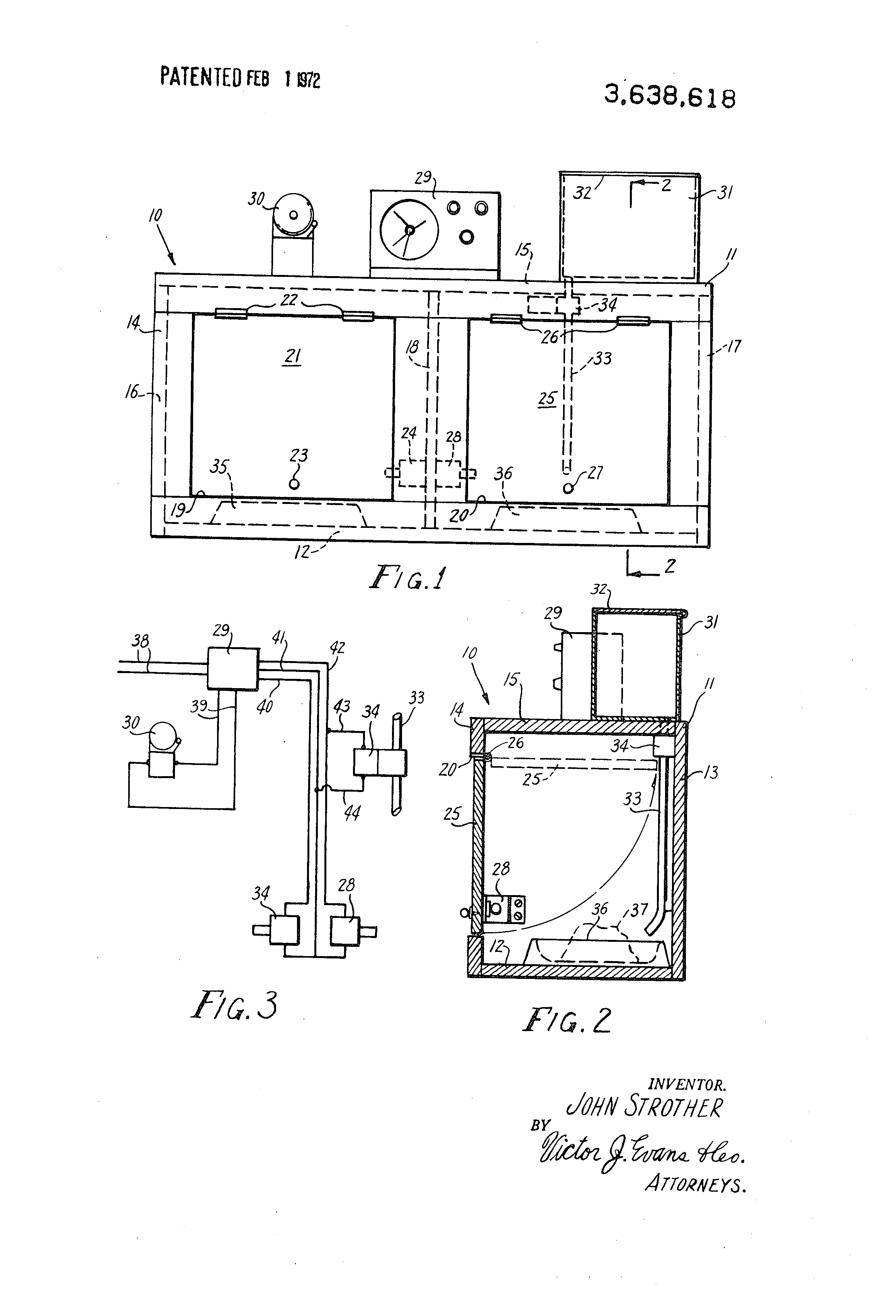 US3638618 1 patent us3638618 automatic pet feeder google patents Metal Automatic Dog Feeder at gsmportal.co
