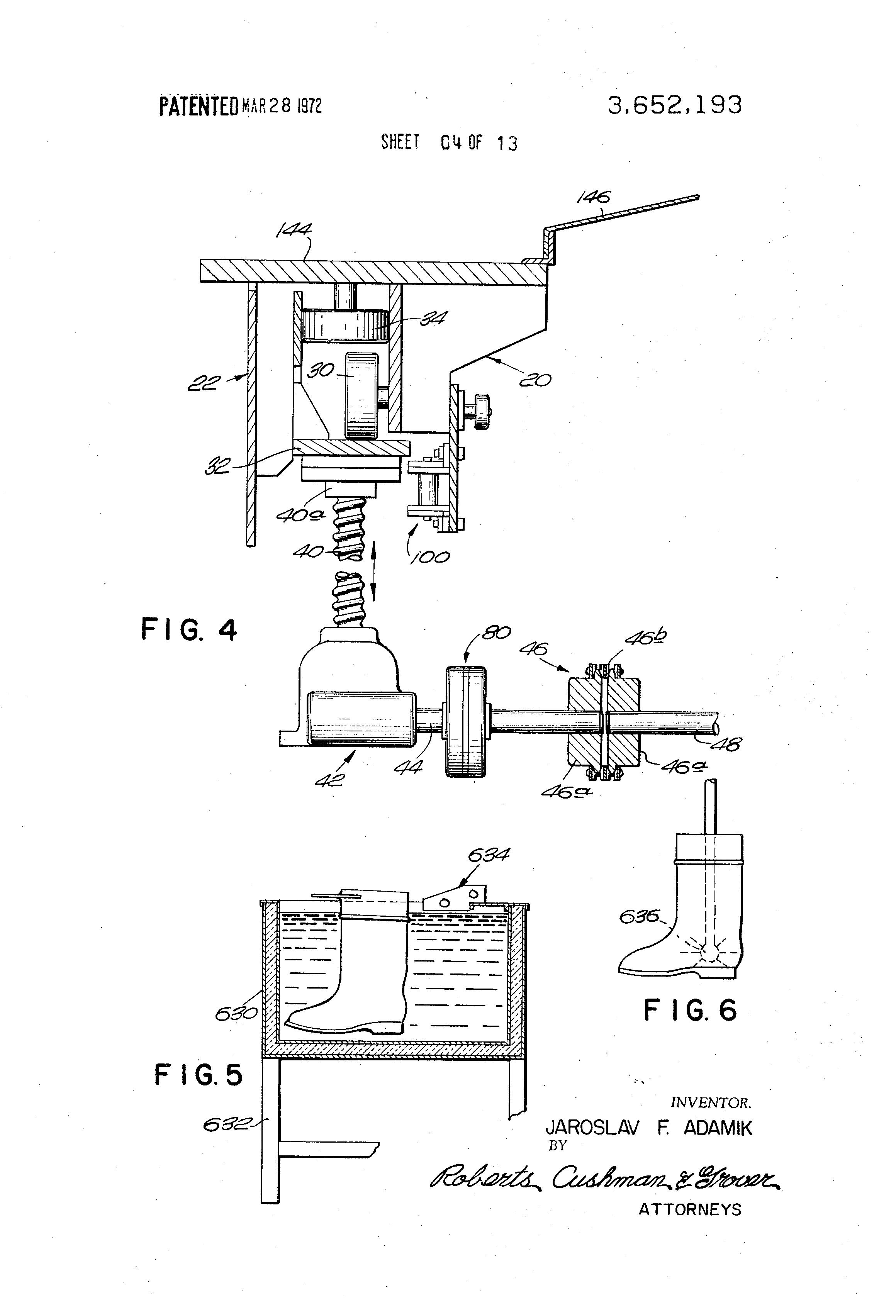 slush molding machine