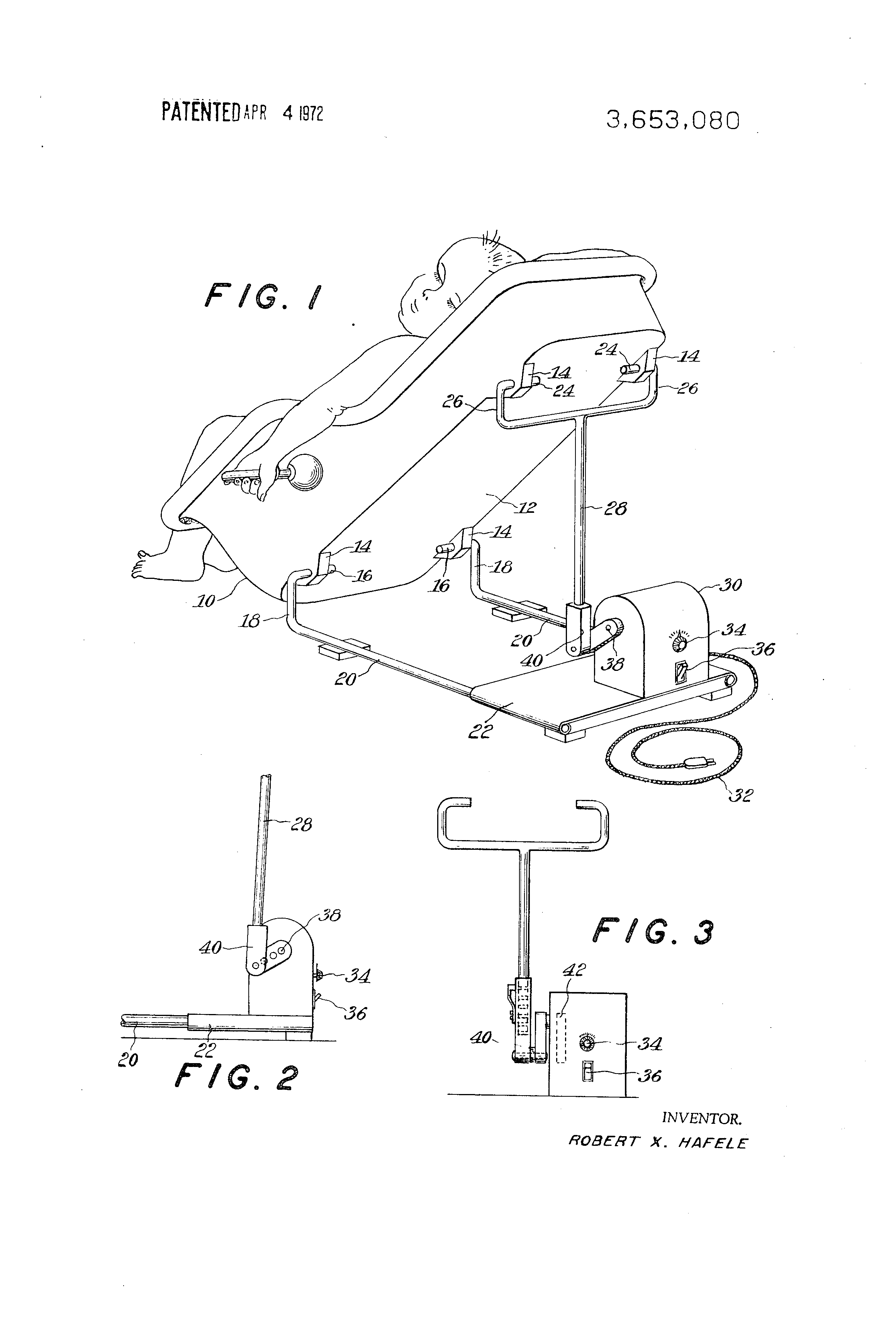Patent US Rocking infant seat Google Patents