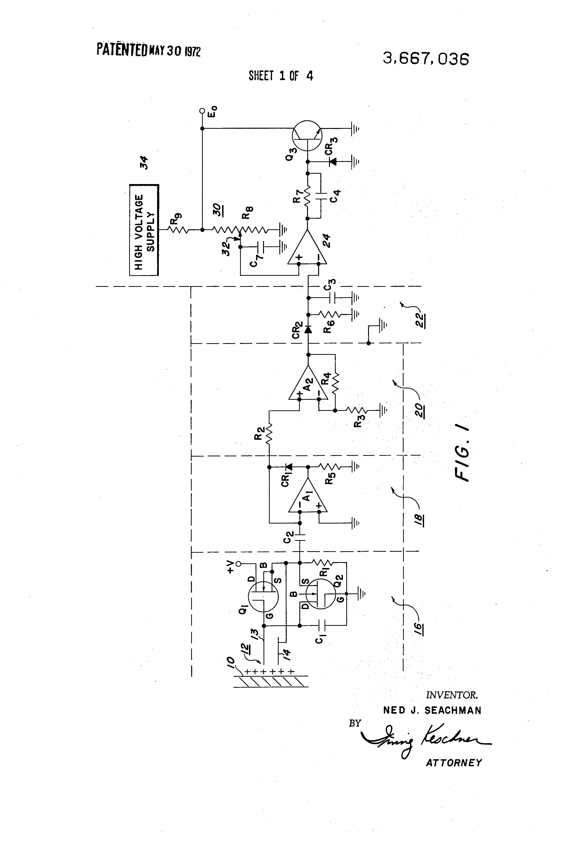 Electrometer Schematic Circuit 10 Amp Constant Current Load Measuringandtestcircuit