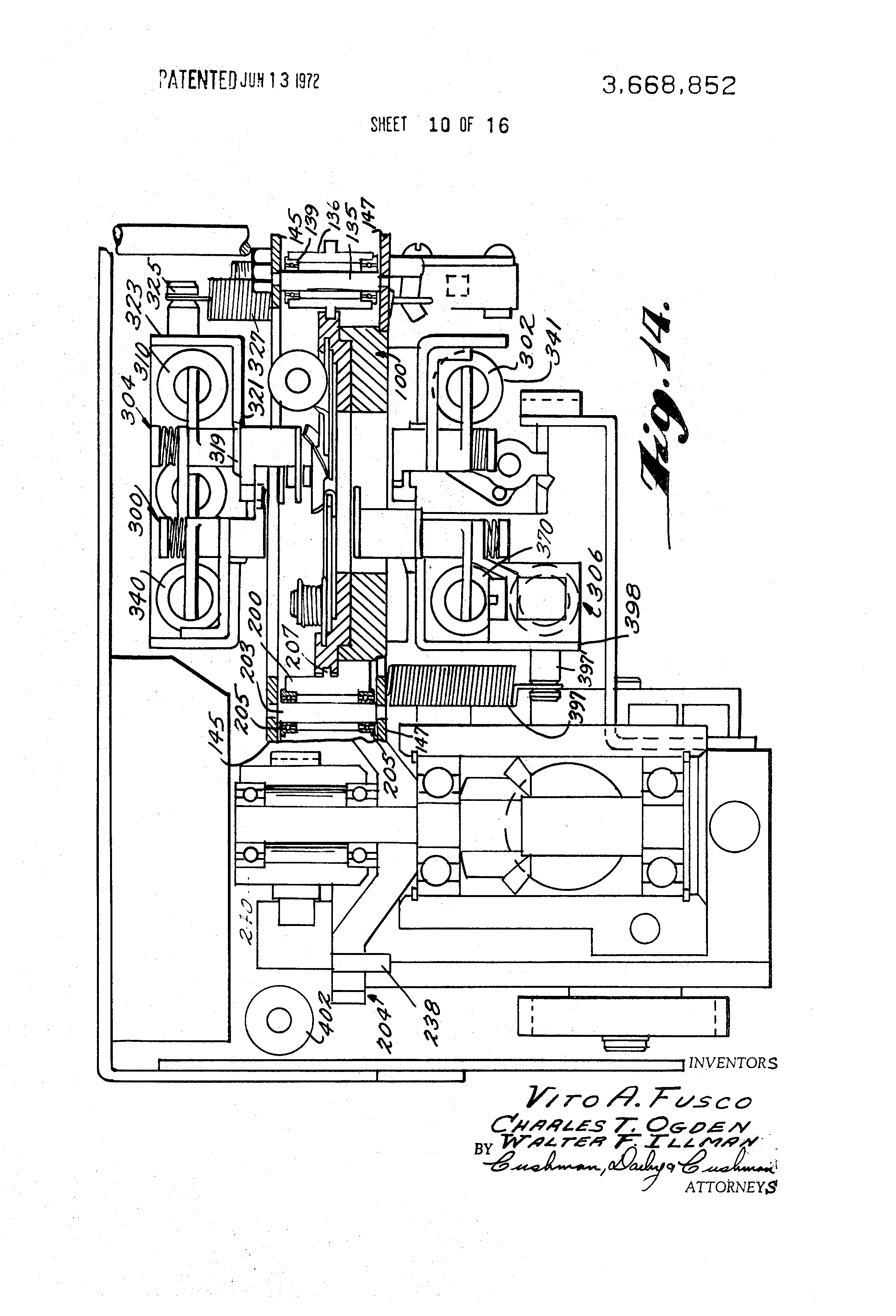 patent us3668852 automatic splicing apparatus google patents